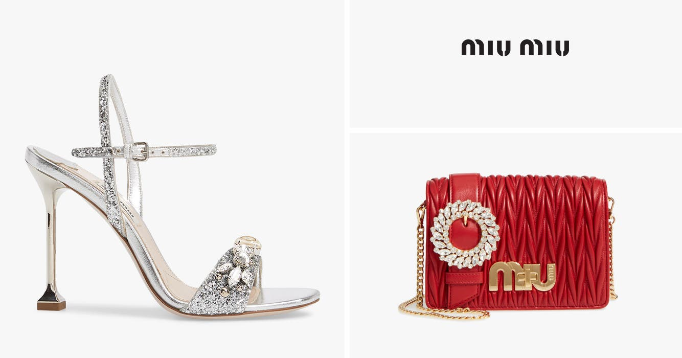 7cbf678eda792 Miu Miu shoes, handbags and accessories.