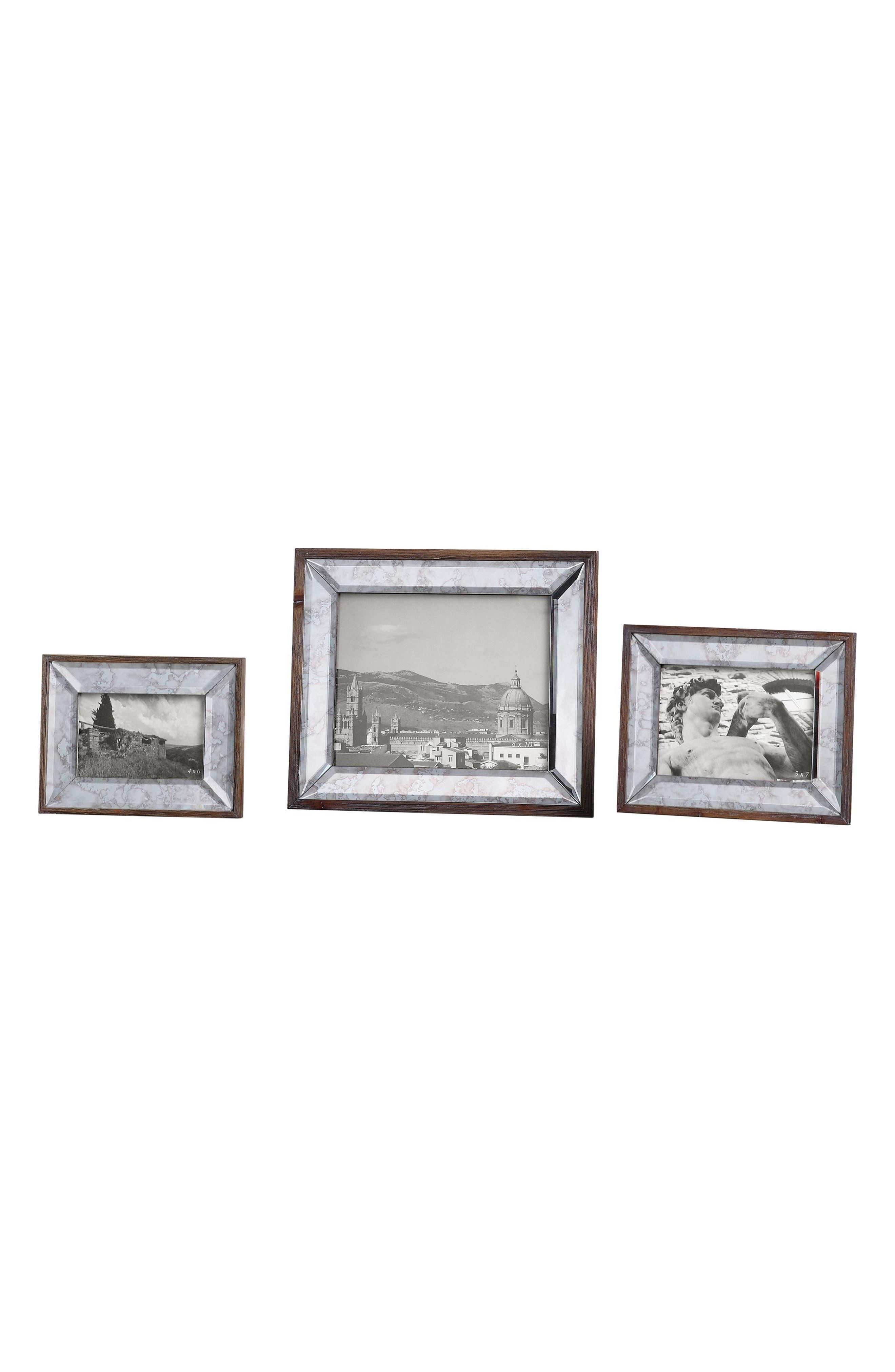Daria Set of 3 Picture Frames,                             Main thumbnail 1, color,                             040