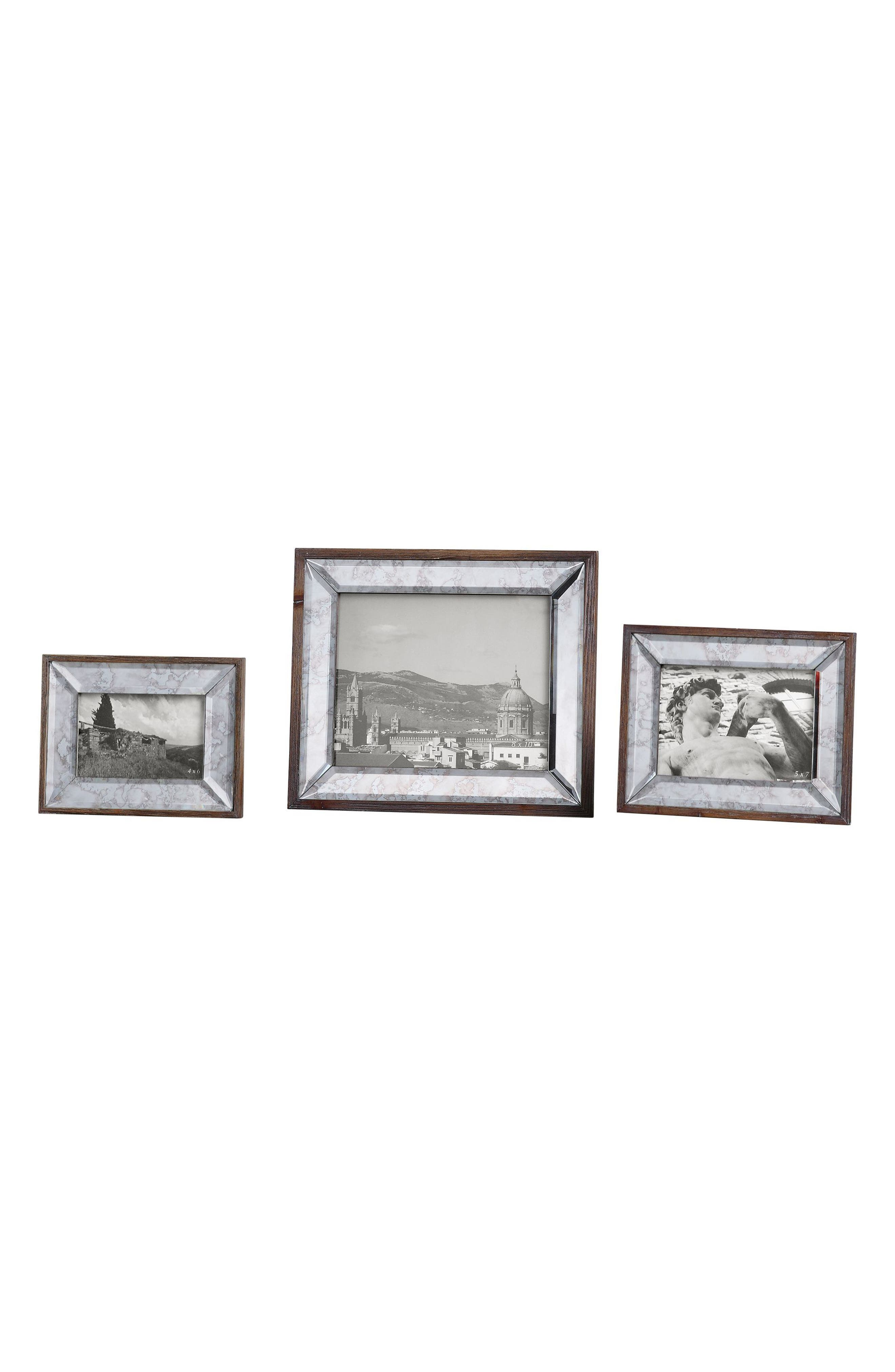 Daria Set of 3 Picture Frames,                         Main,                         color, 040