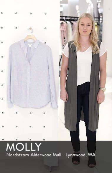 Button Up Stripe Shirt, sales video thumbnail