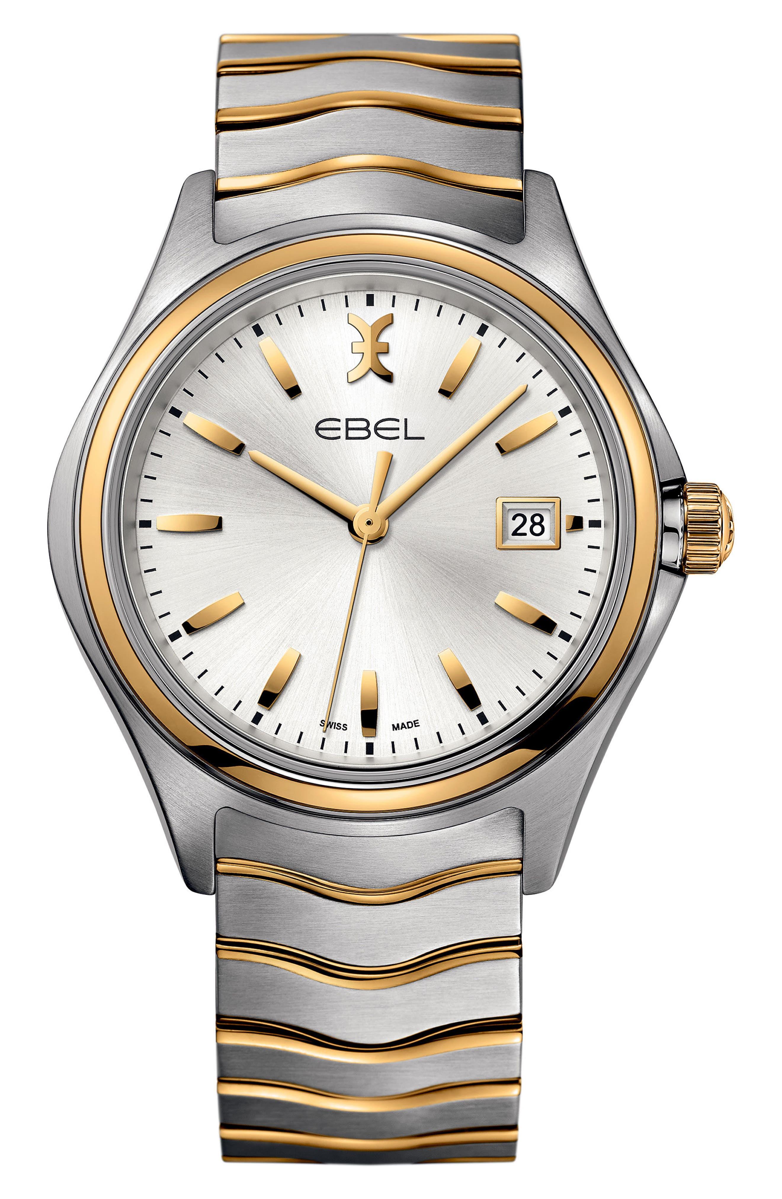 Wave Bracelet Watch, 40mm,                             Main thumbnail 3, color,
