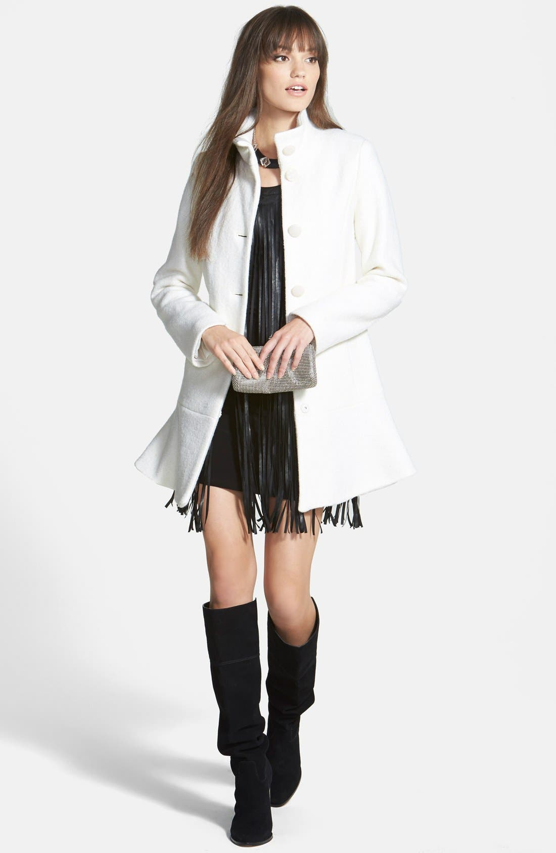 'Regina' Over the Knee Boot,                             Alternate thumbnail 6, color,                             001
