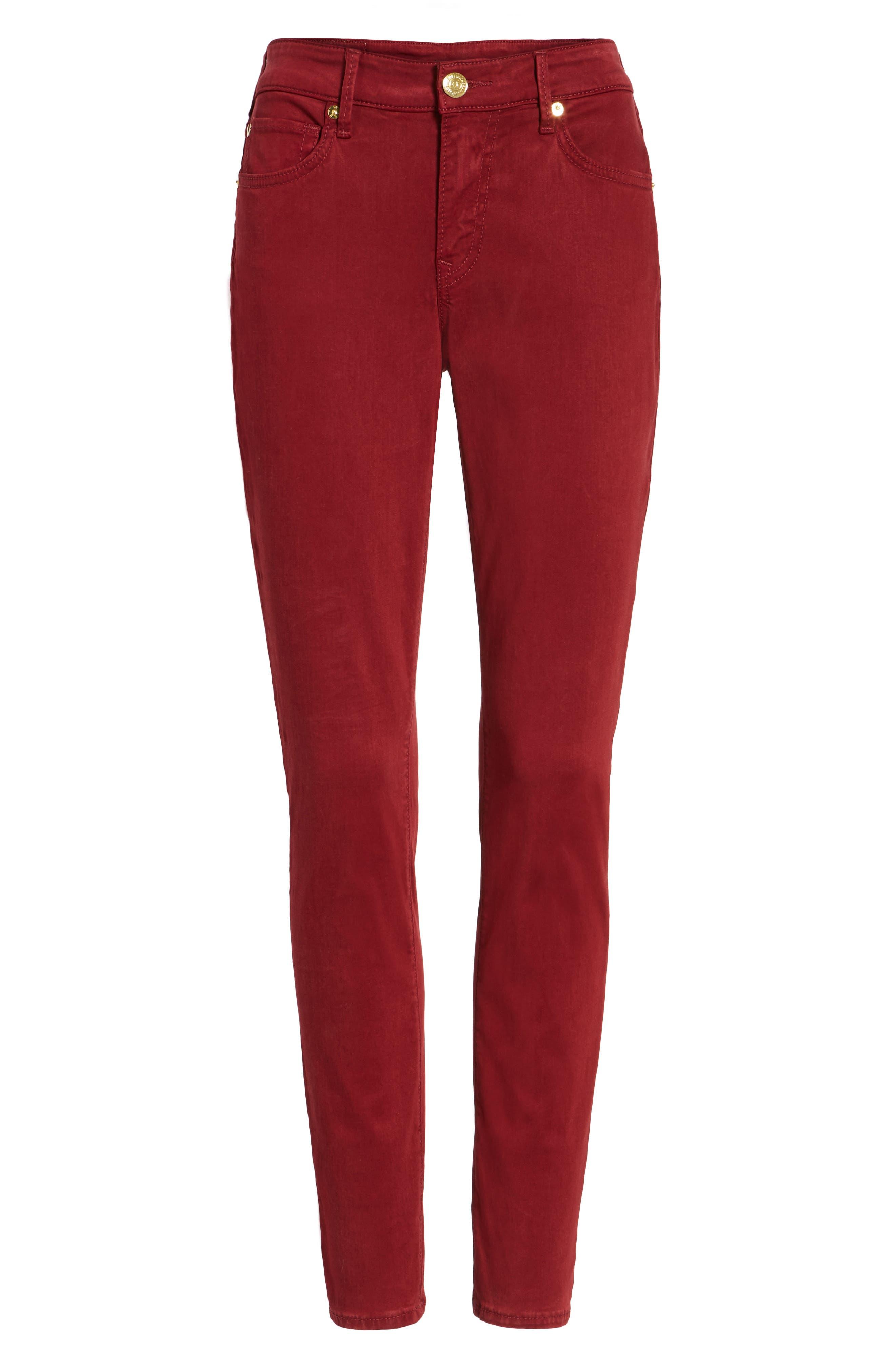 Jennie Curvy Skinny Jeans,                             Alternate thumbnail 6, color,                             640