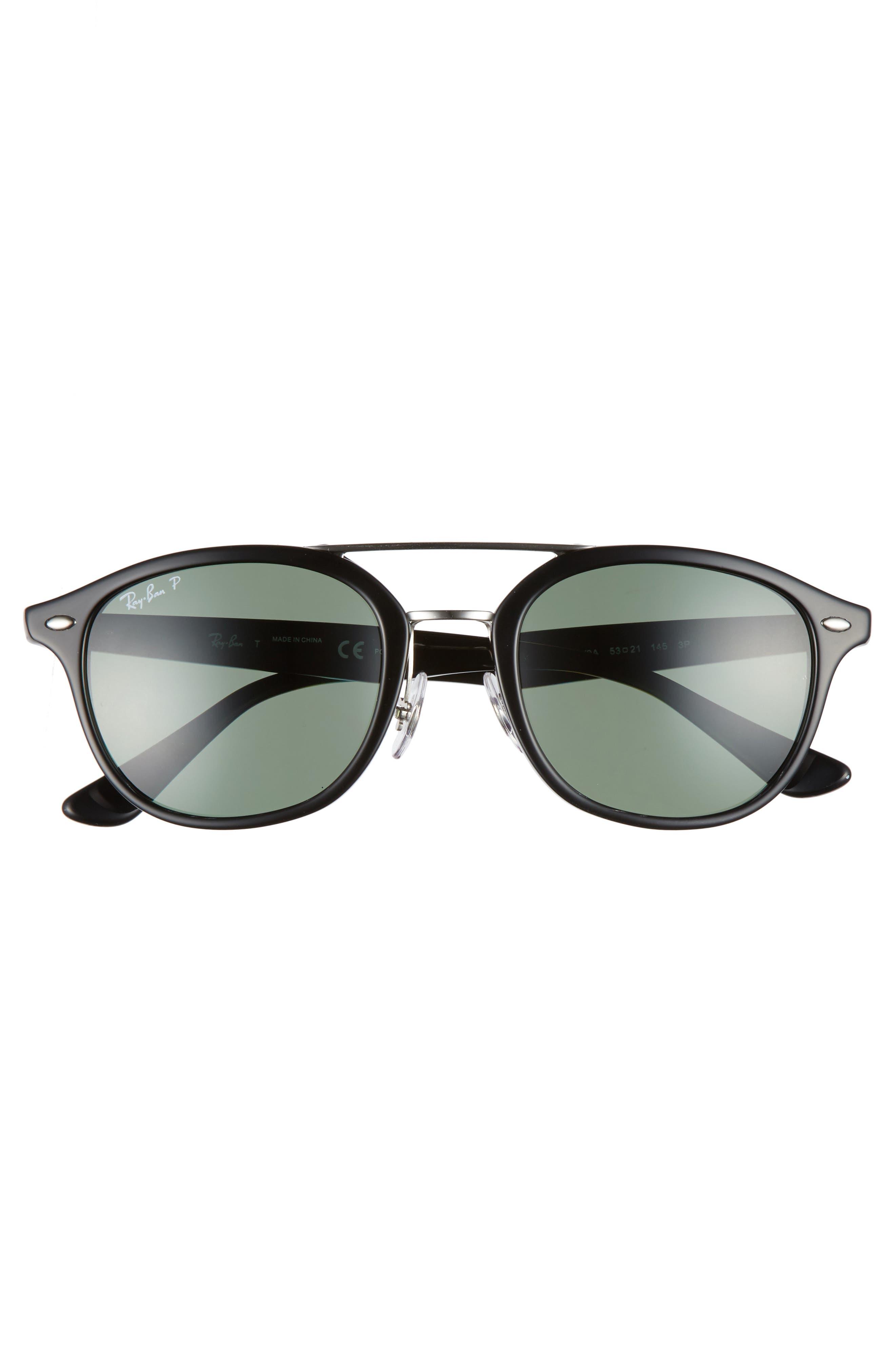 53mm Polarized Sunglasses,                             Alternate thumbnail 2, color,