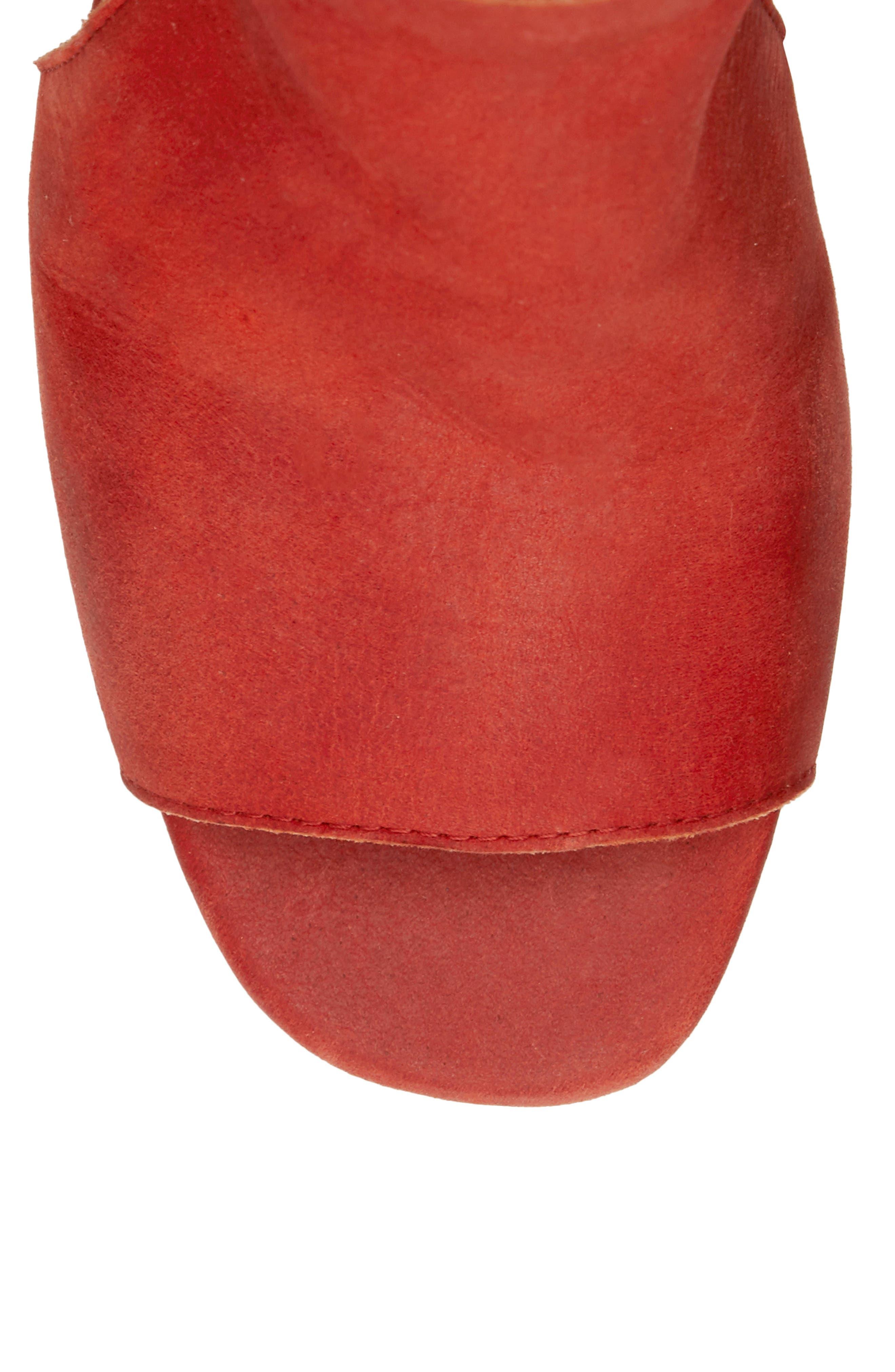 Udine Shield Sandal,                             Alternate thumbnail 8, color,                             TANDORI LEATHER