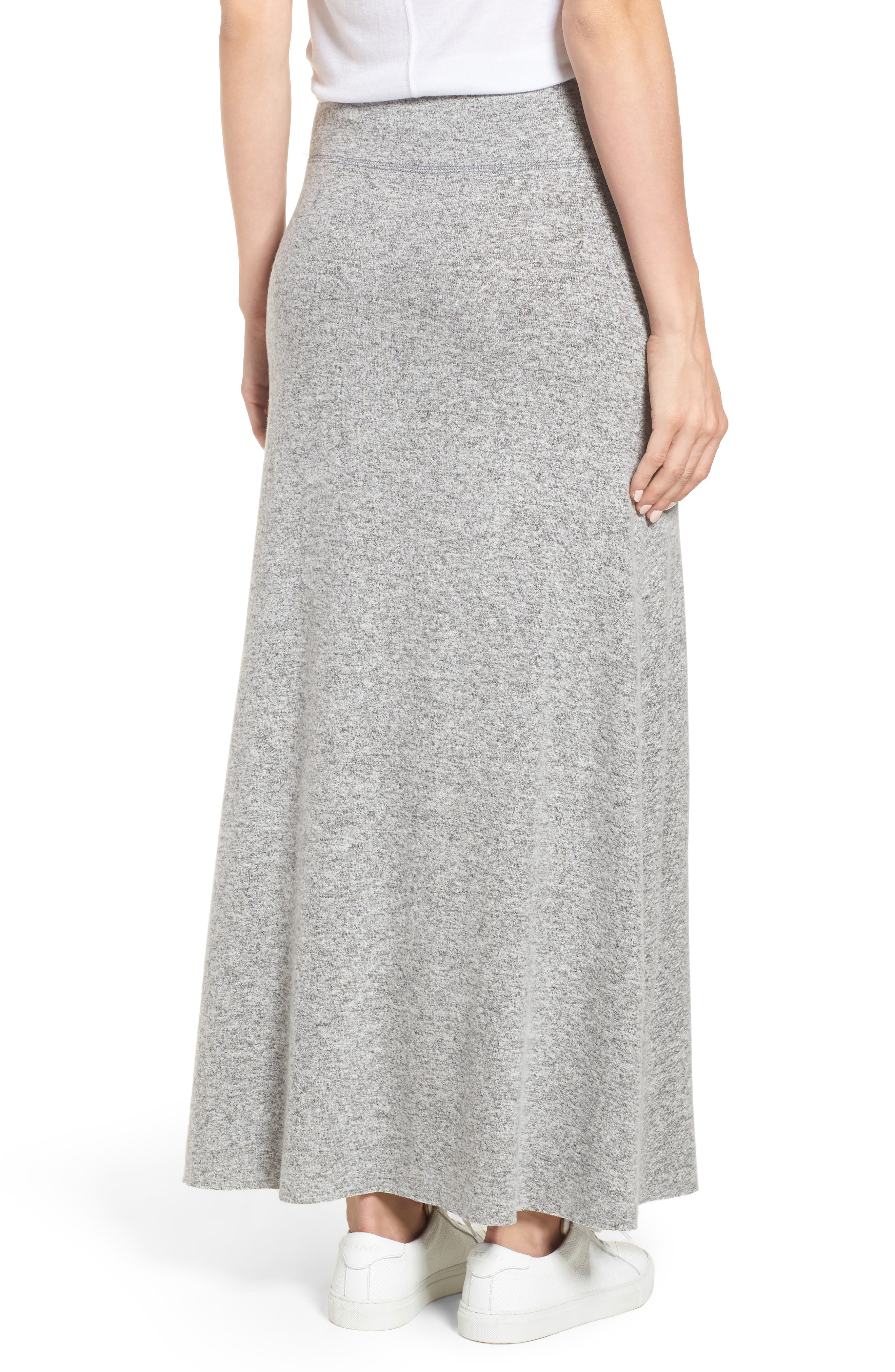 Fleece Maxi Skirt,                             Alternate thumbnail 2, color,                             055