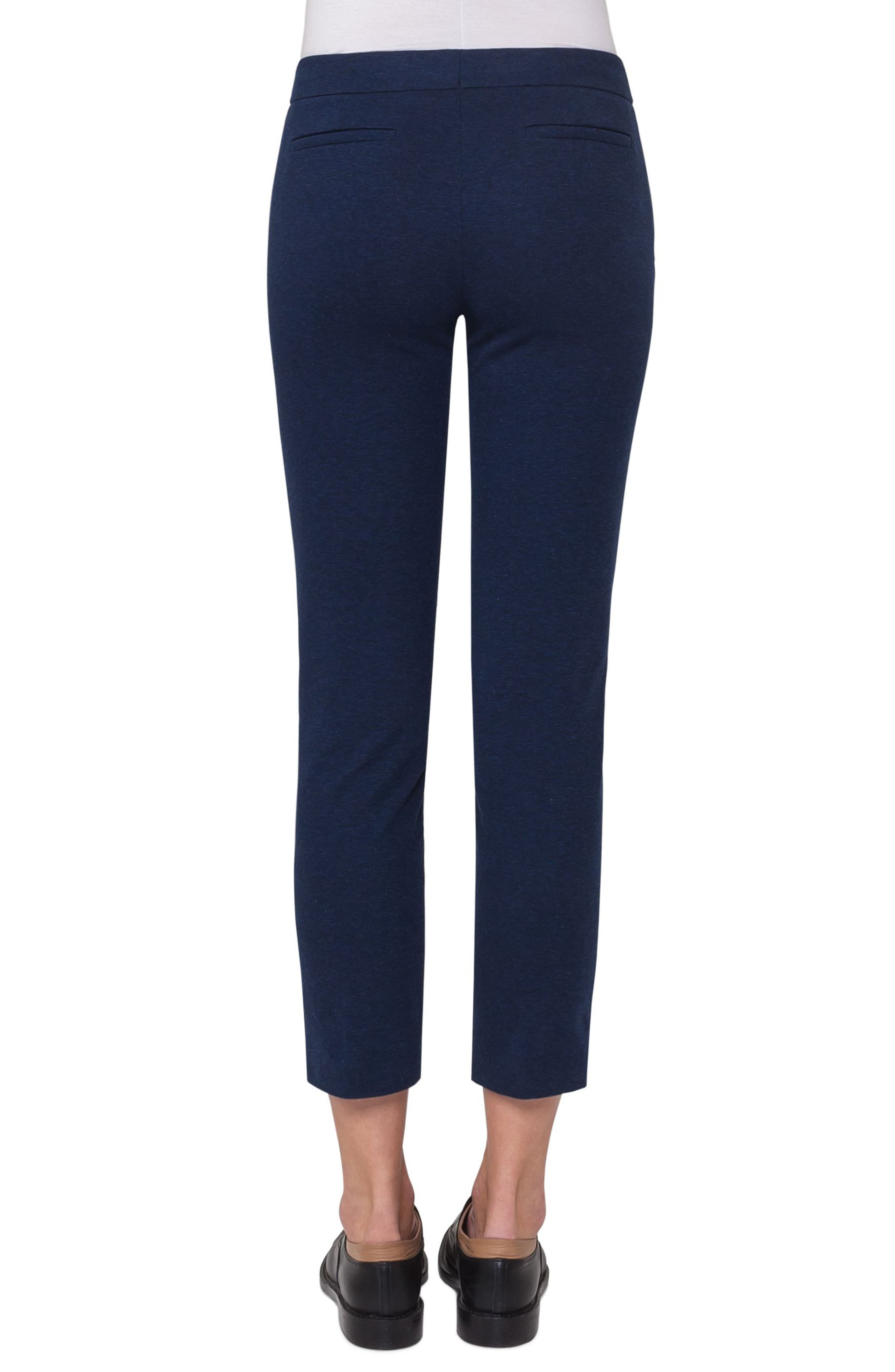 Frankie Crop Jersey Pants,                             Alternate thumbnail 2, color,                             400