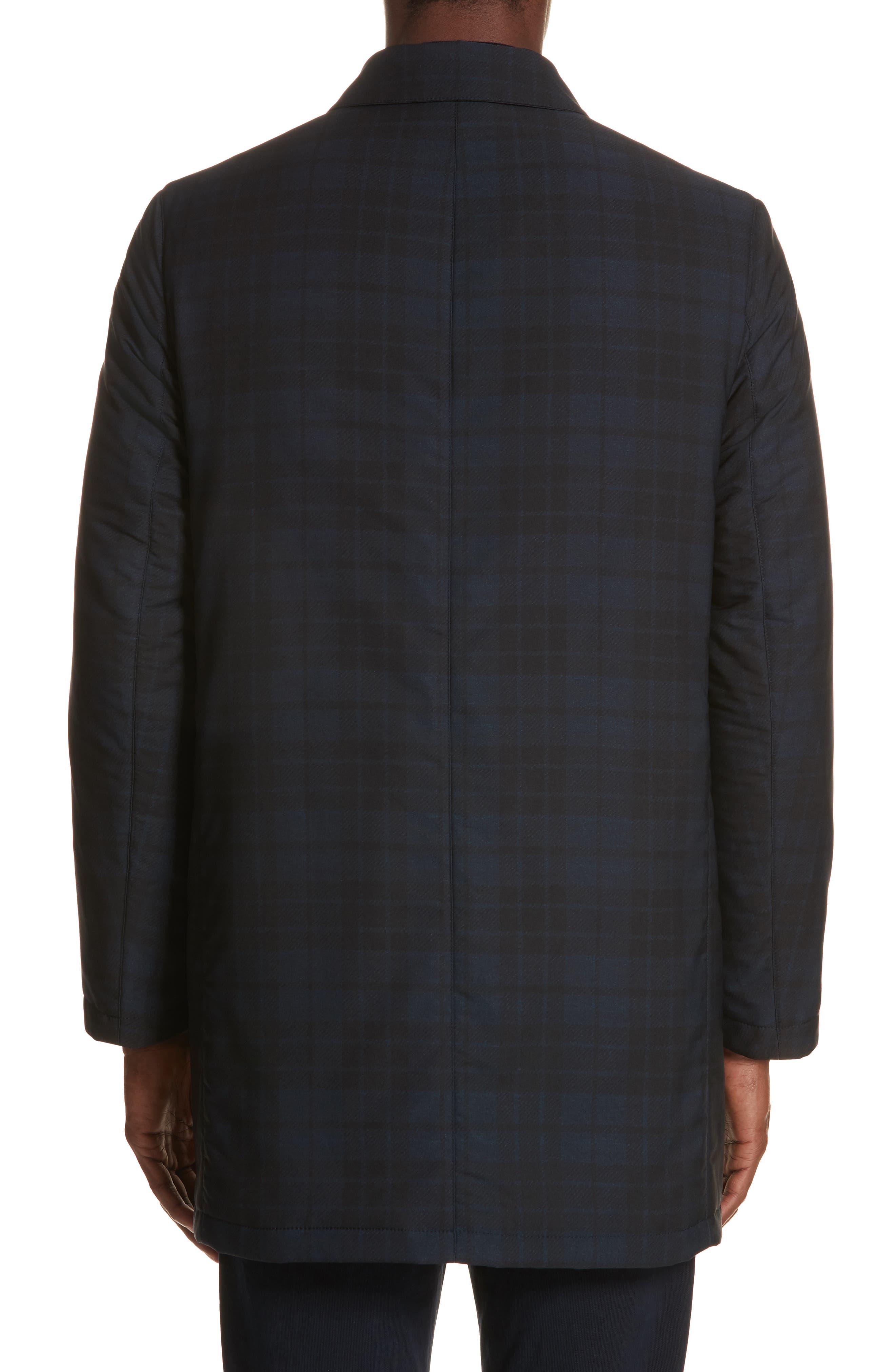 Regular Fit Reversible Raincoat,                             Alternate thumbnail 3, color,