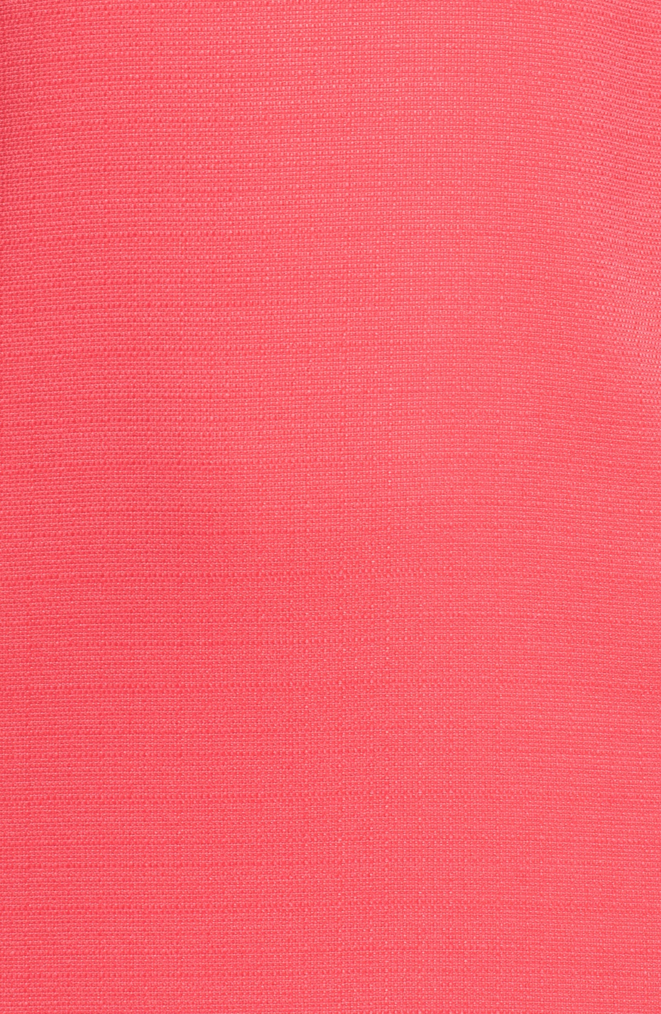 Puff Sleeve Shift Dress,                             Alternate thumbnail 12, color,