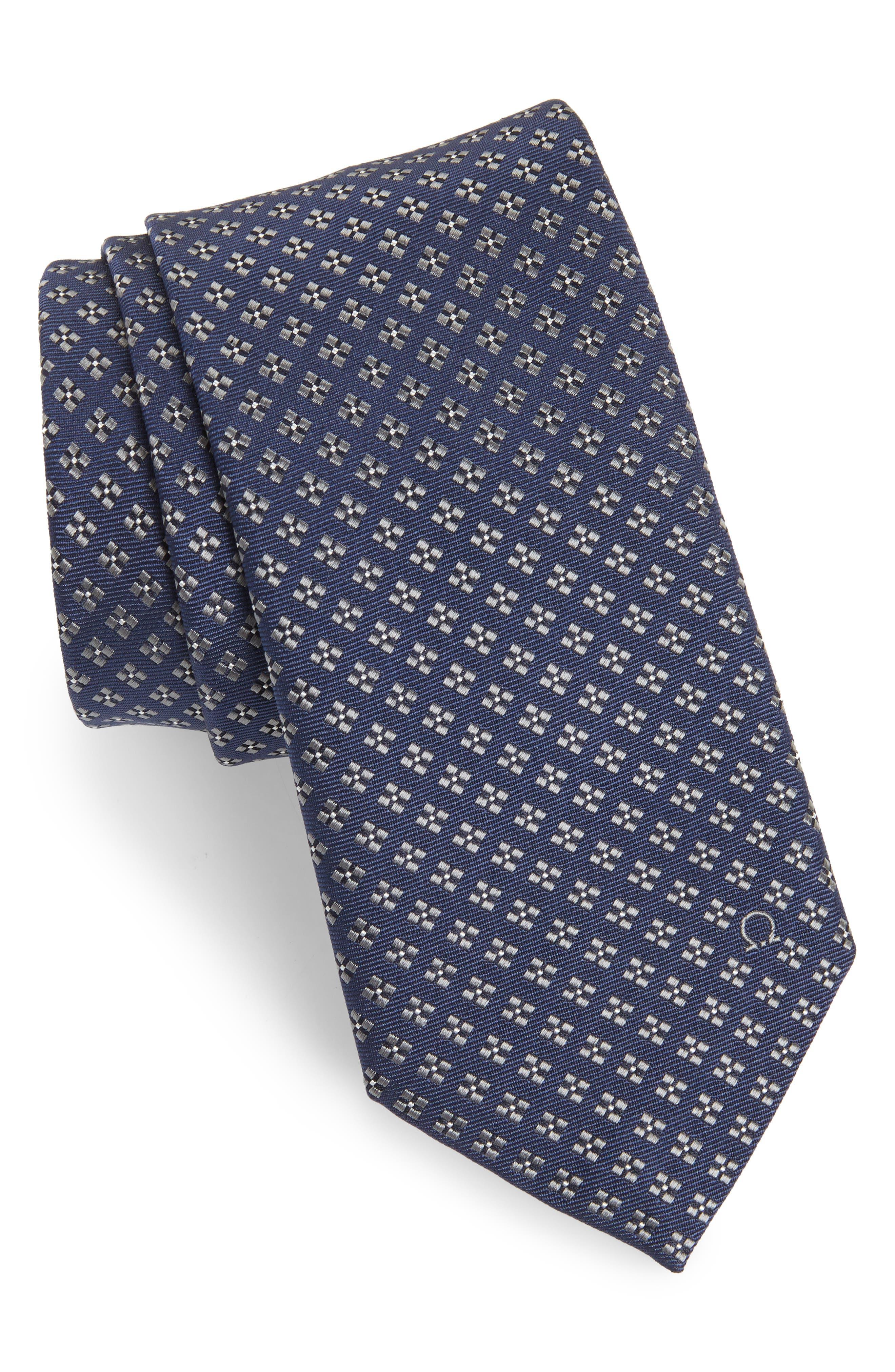 Empol Geometric Silk Tie,                             Main thumbnail 2, color,