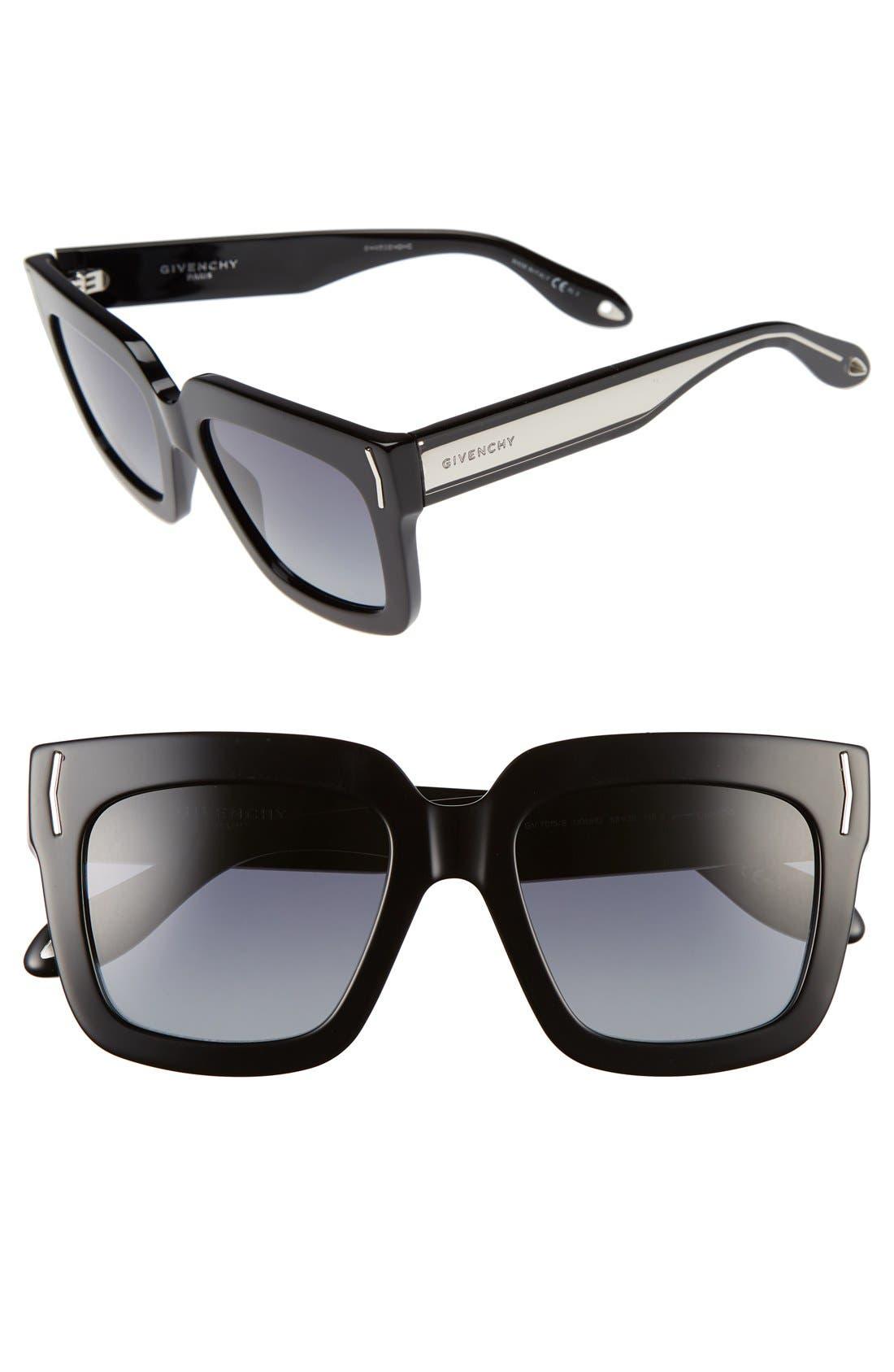 53mm Sunglasses,                             Main thumbnail 1, color,                             001