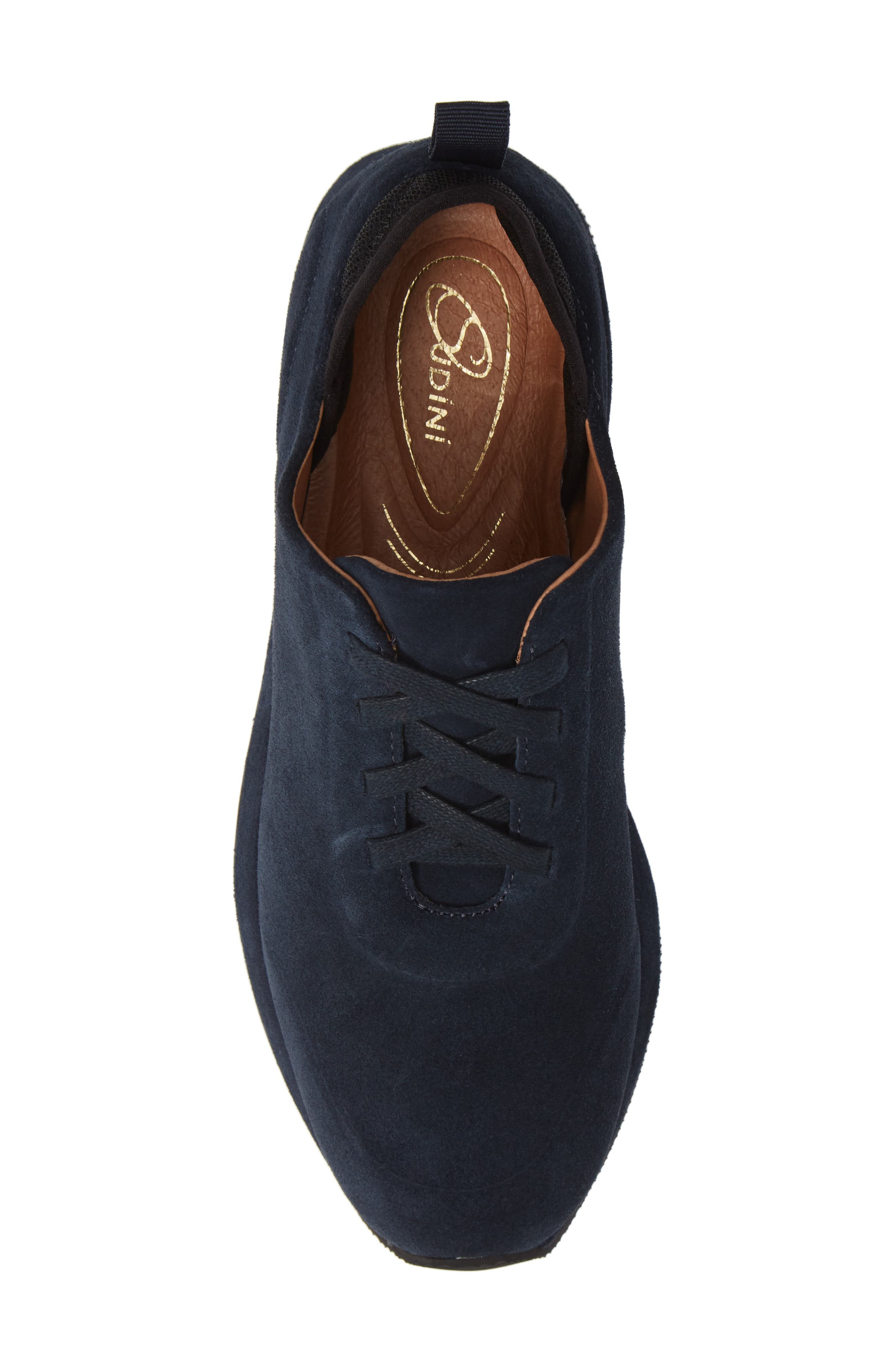 SUDINI,                             Mabel Sneaker,                             Alternate thumbnail 5, color,                             NAVY SUEDE