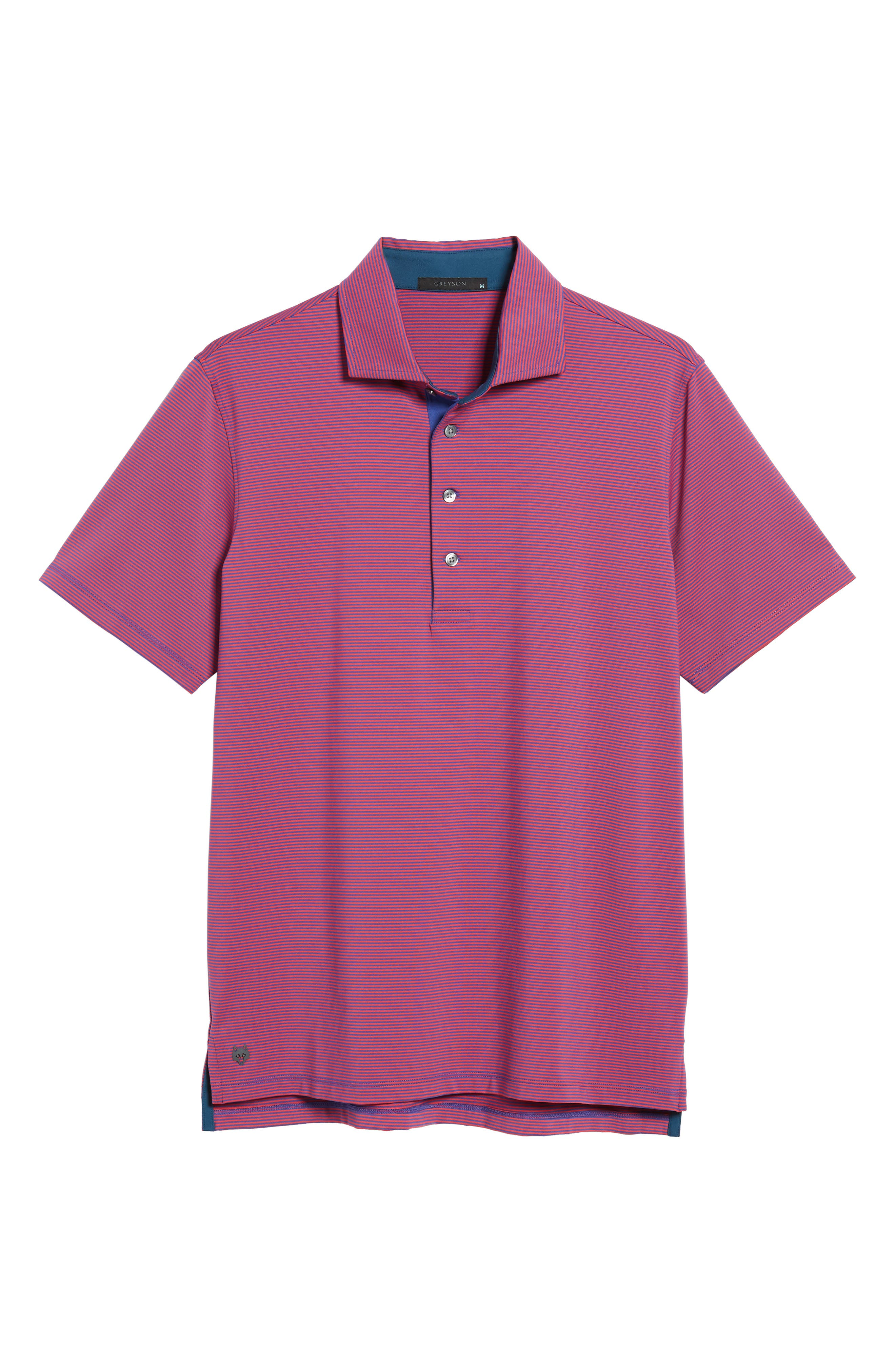 Saranac Jersey Polo,                             Alternate thumbnail 6, color,                             650