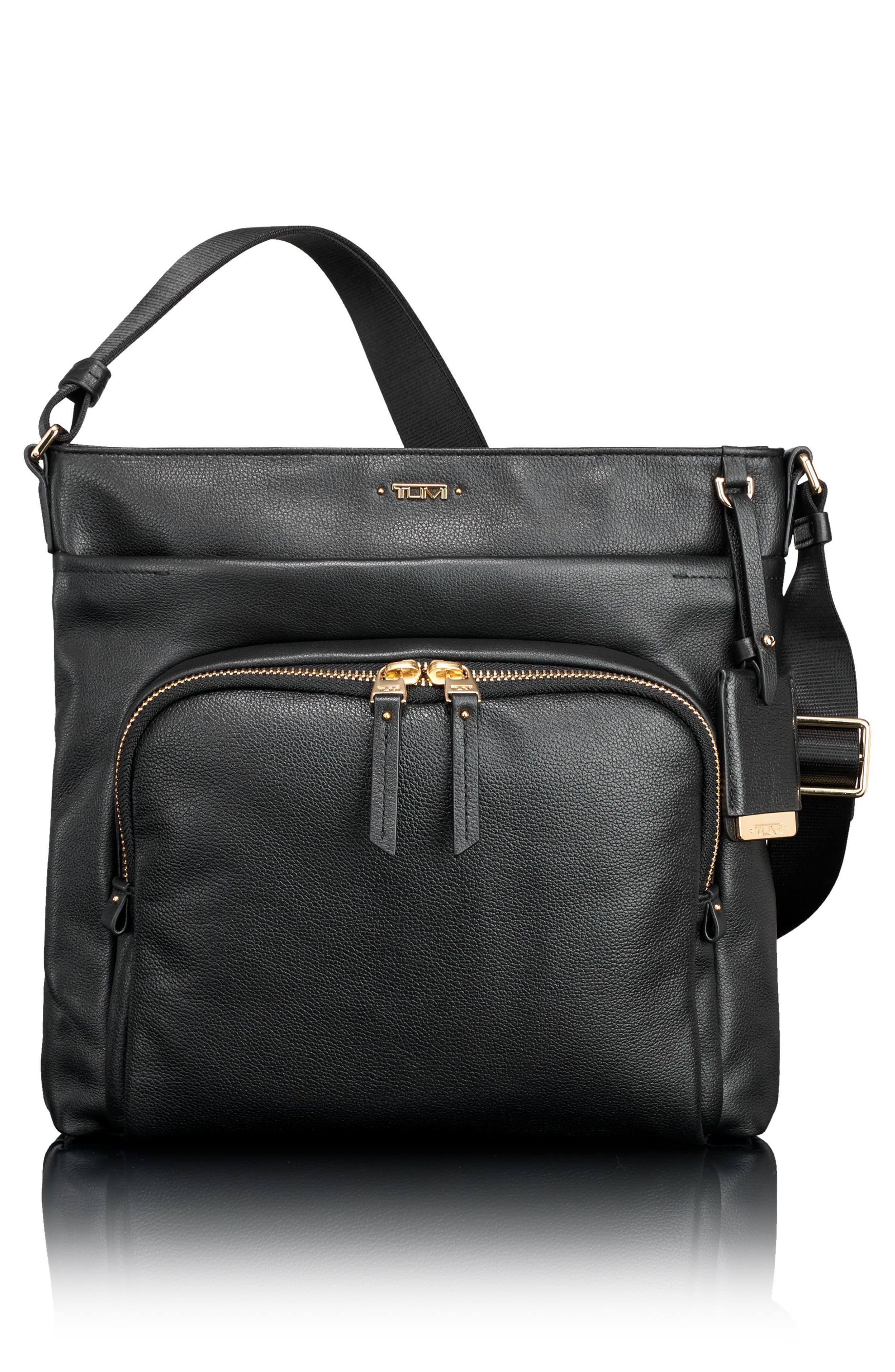 Voyageur - Capri Leather Crossbody Bag,                             Main thumbnail 2, color,