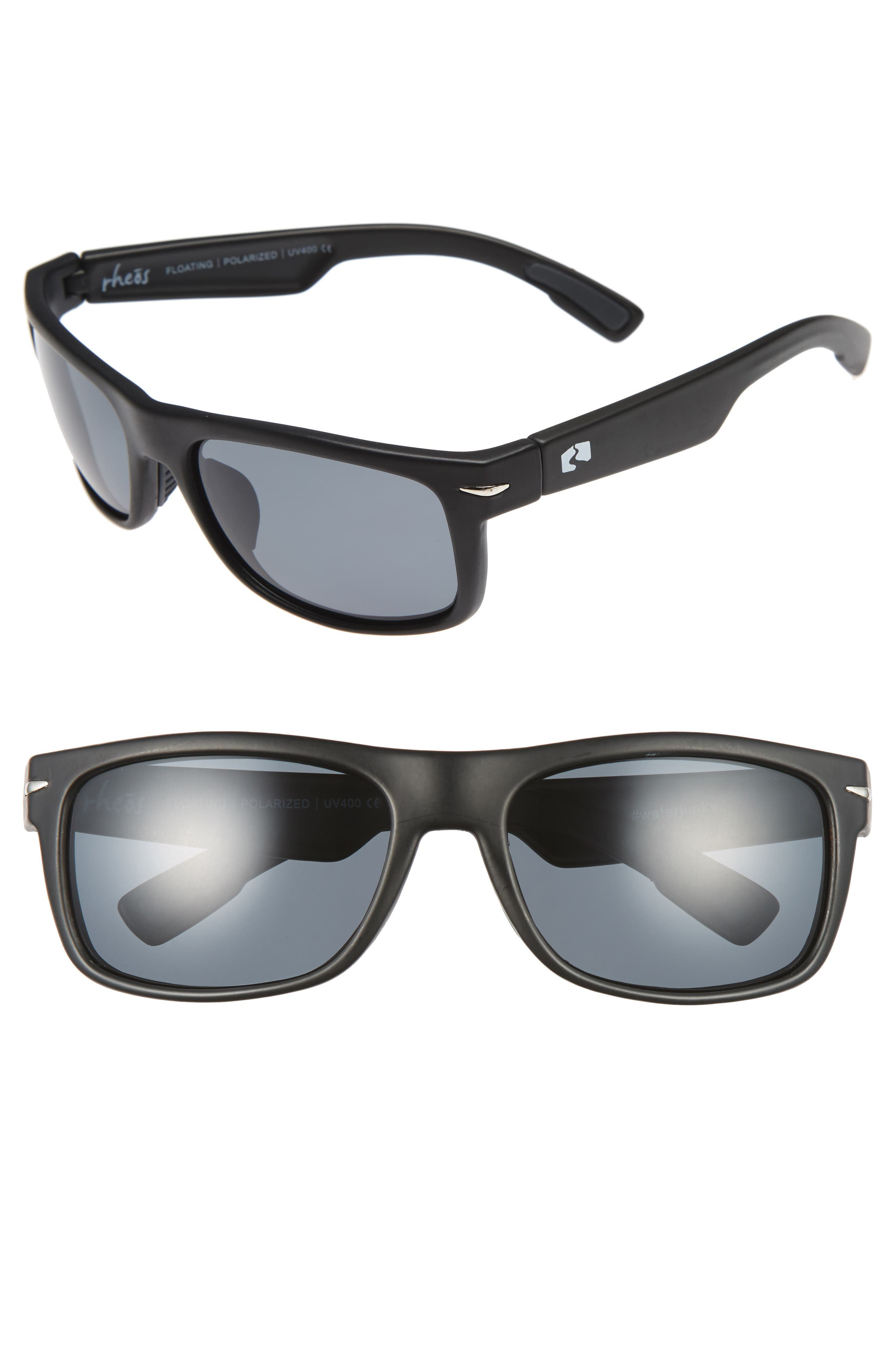 Anhingas Floating 59mm Polarized Sunglasses,                         Main,                         color, 001