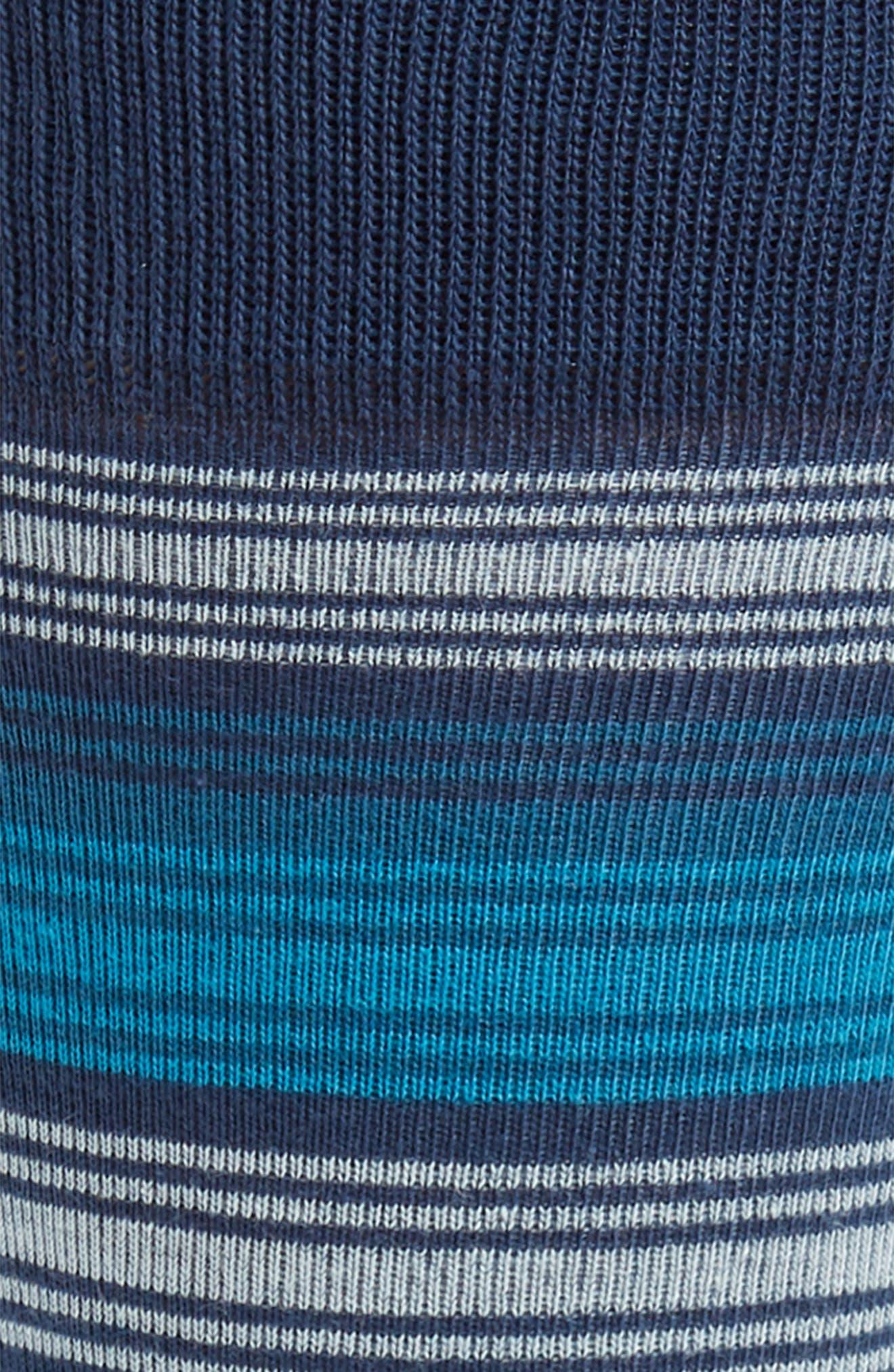 Spliced Block Stripe Socks,                             Alternate thumbnail 2, color,                             410