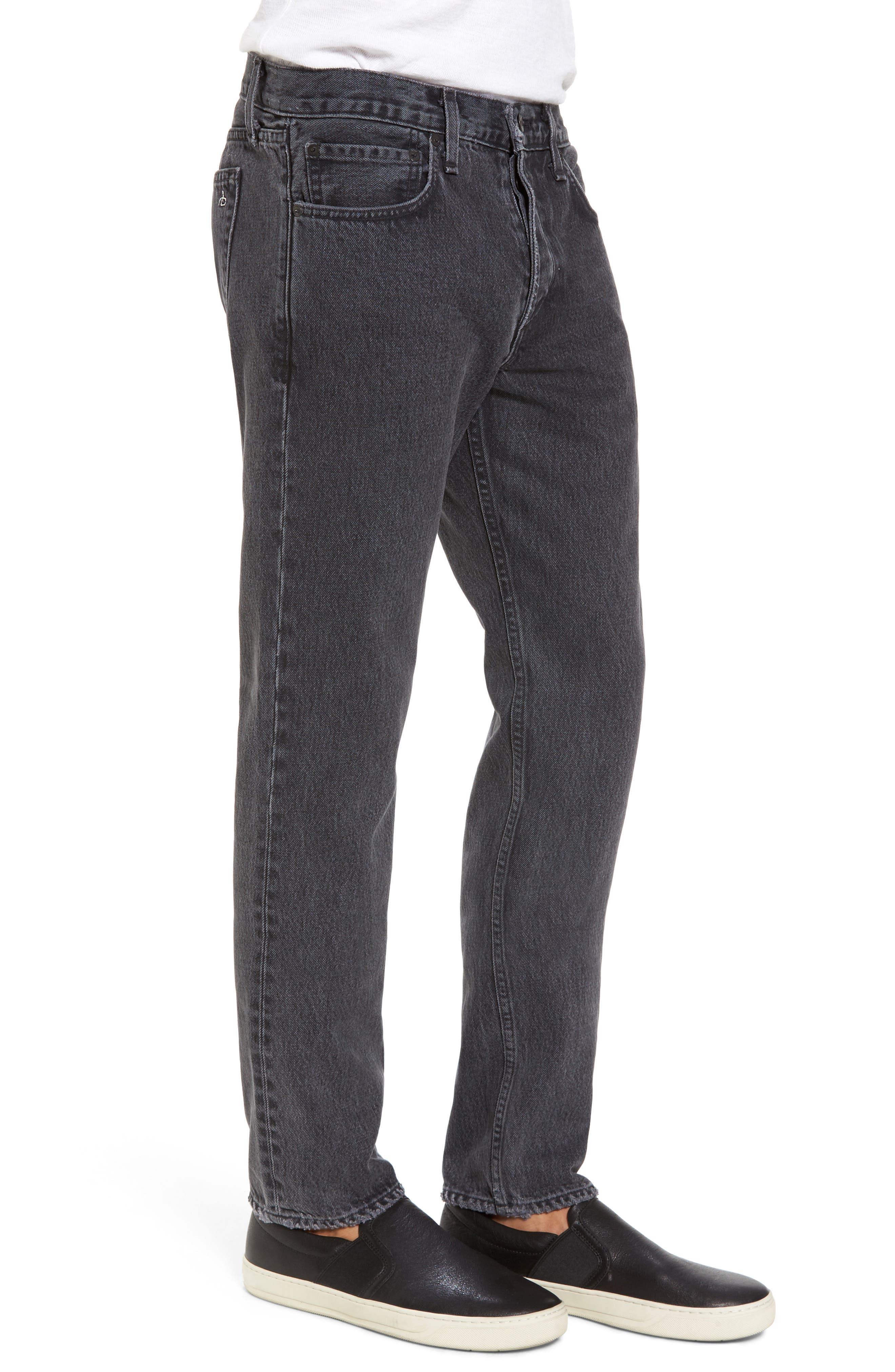 Fit 2 Slim Fit Jeans,                             Alternate thumbnail 3, color,                             001