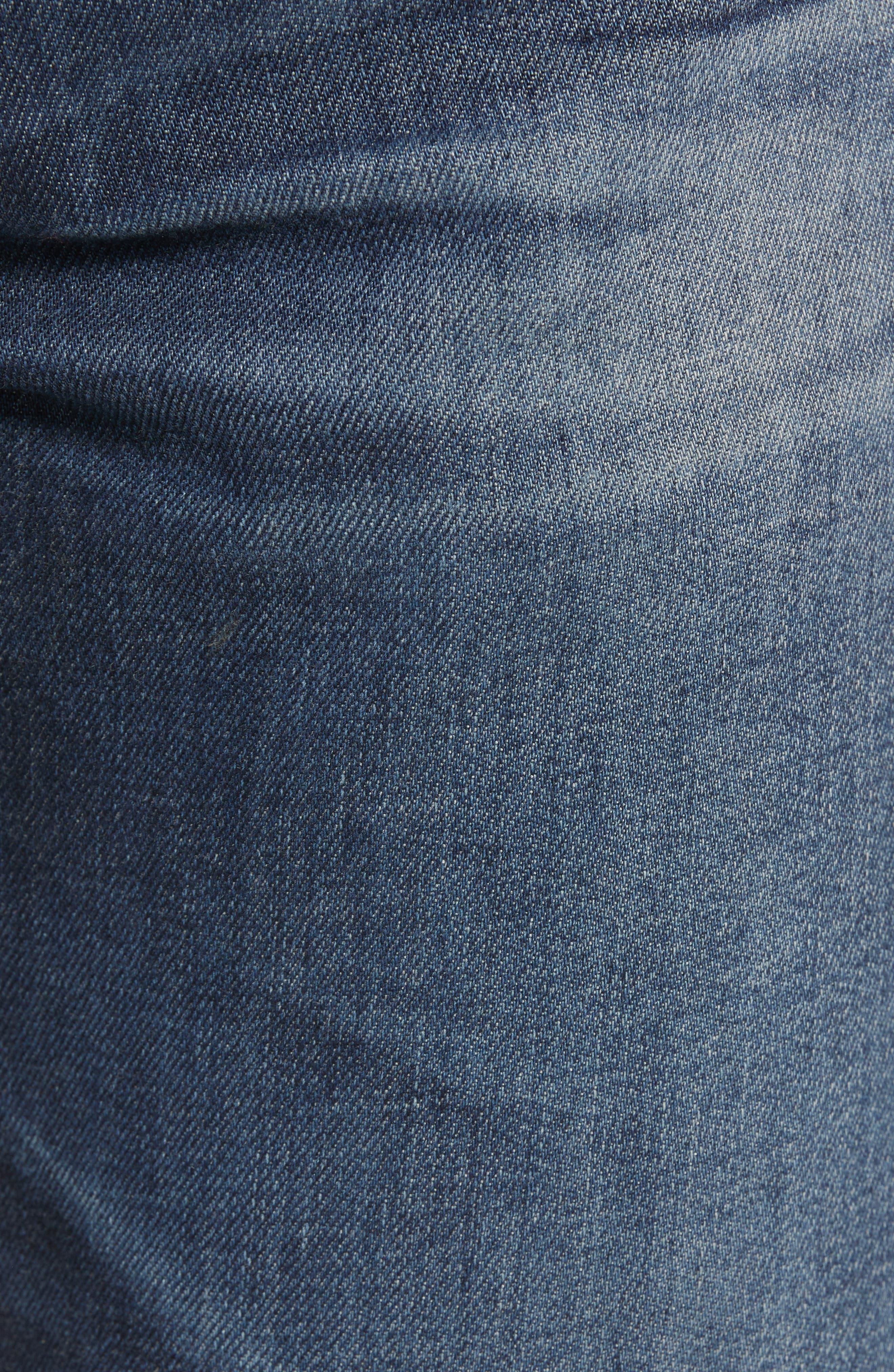 Everett Slim Straight Leg Jeans,                             Alternate thumbnail 5, color,                             7 YEARS PARK AVEUNE