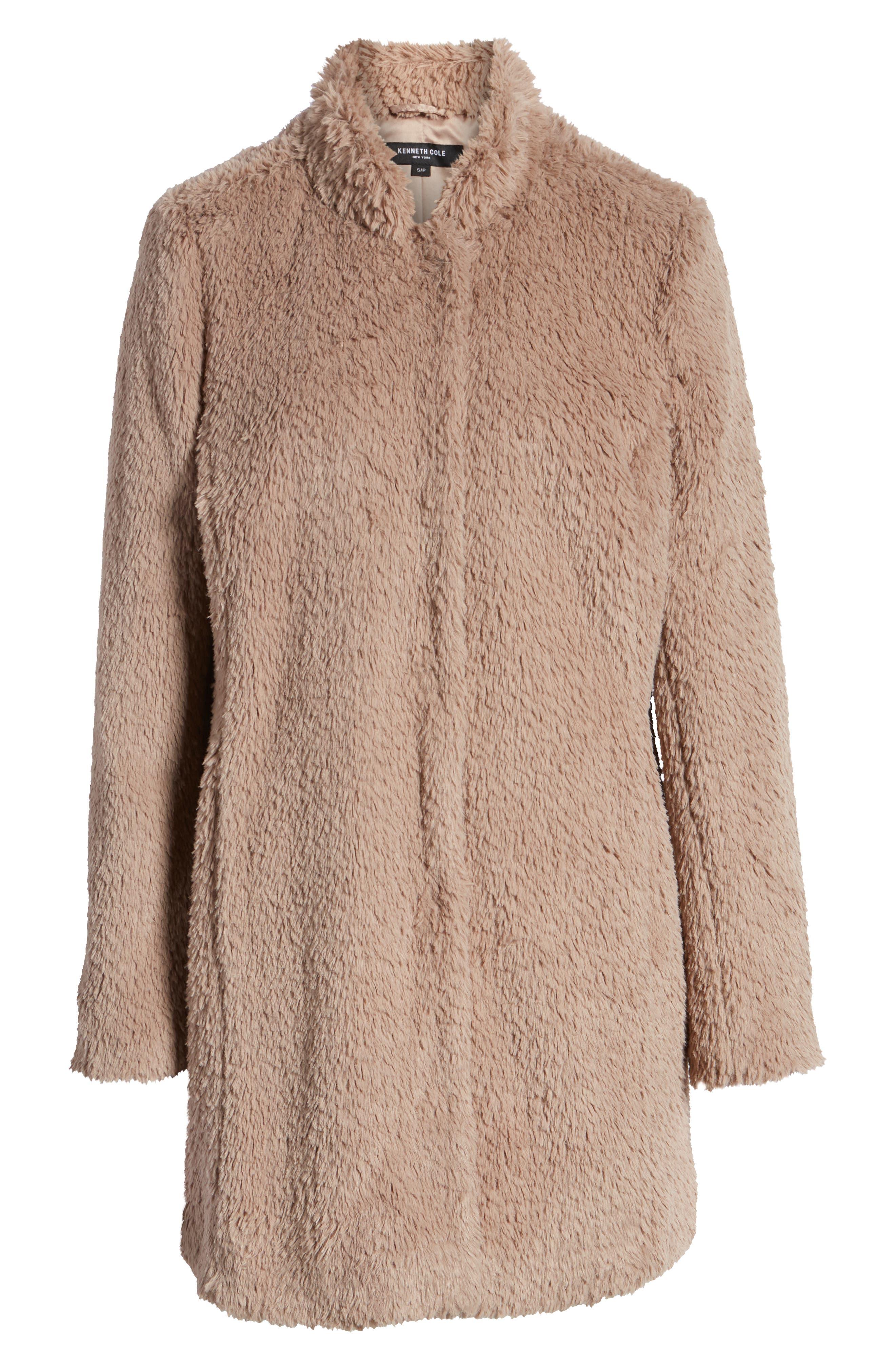 Faux Fur Jacket,                             Alternate thumbnail 26, color,