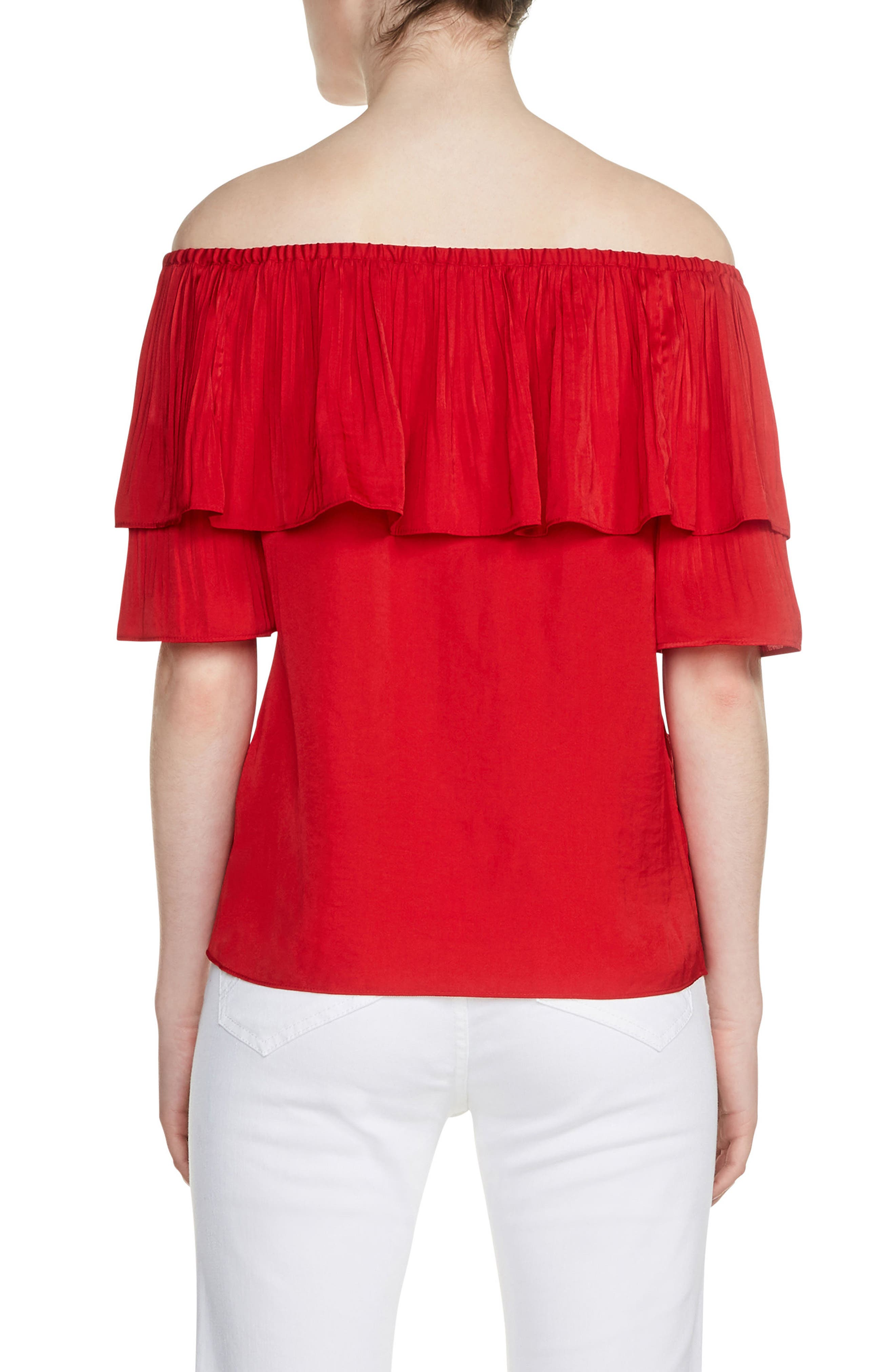 Locao Off the Shoulder Top,                             Alternate thumbnail 2, color,                             600