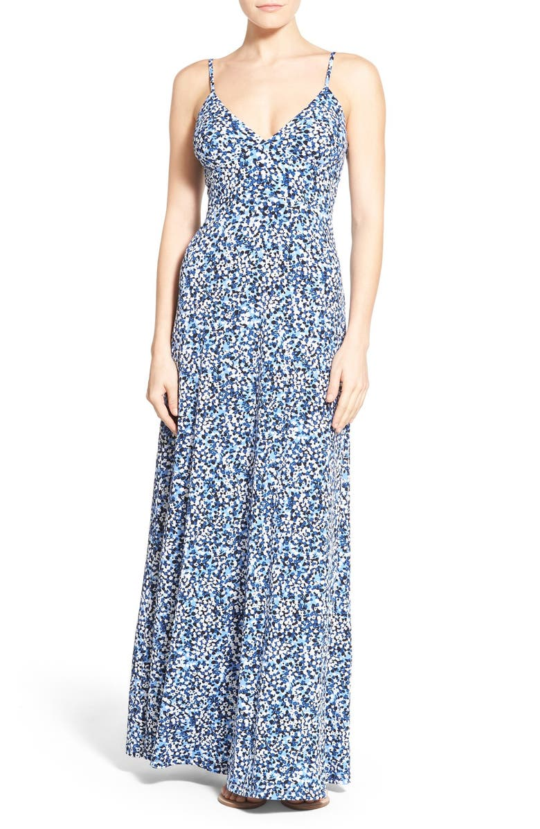 b3c7289703ab9 MICHAEL Michael Kors  Chiltington  Print Jersey Maxi Dress (Regular ...