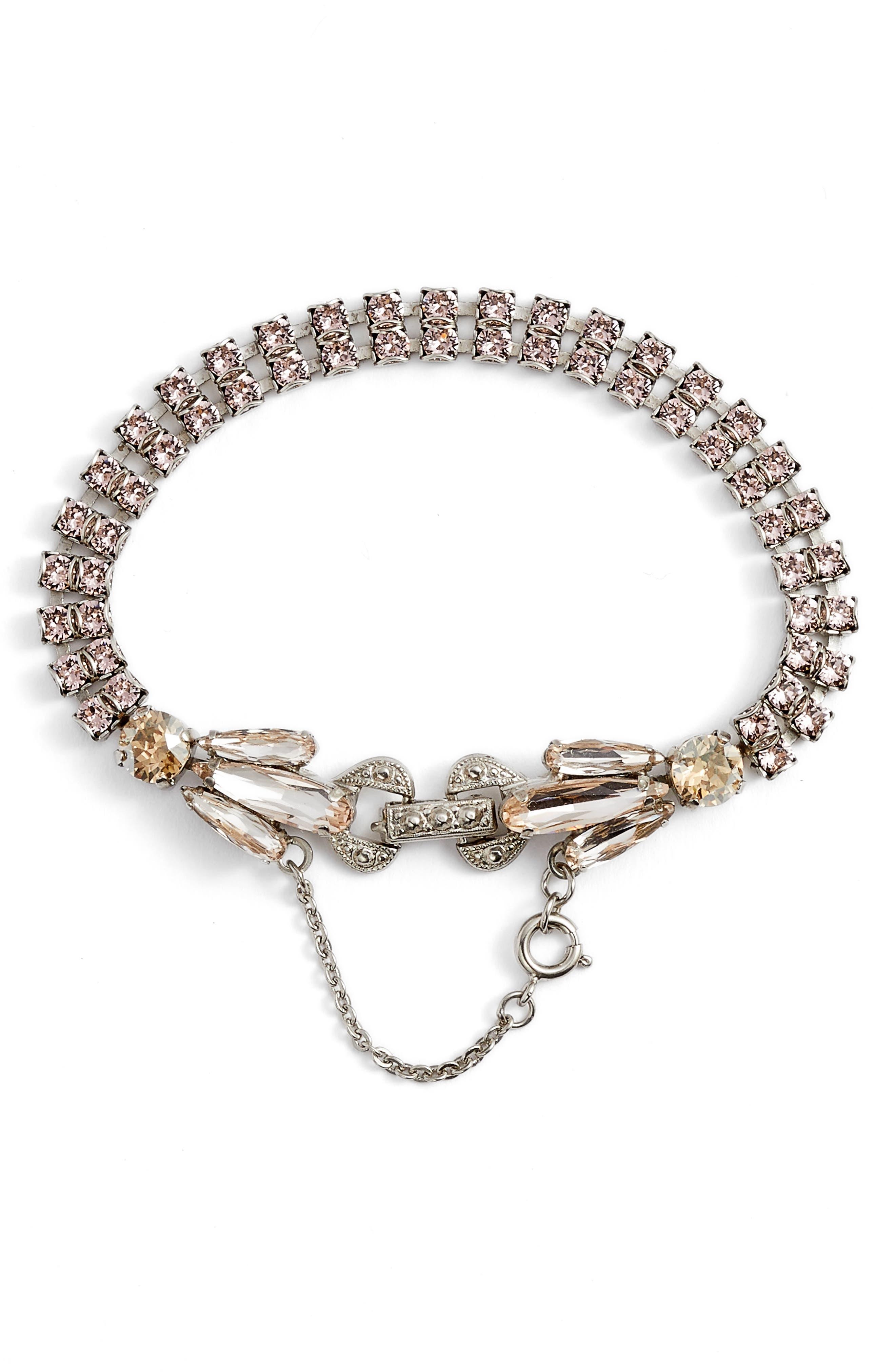 Angelica Crystal Bracelet,                         Main,                         color, 650