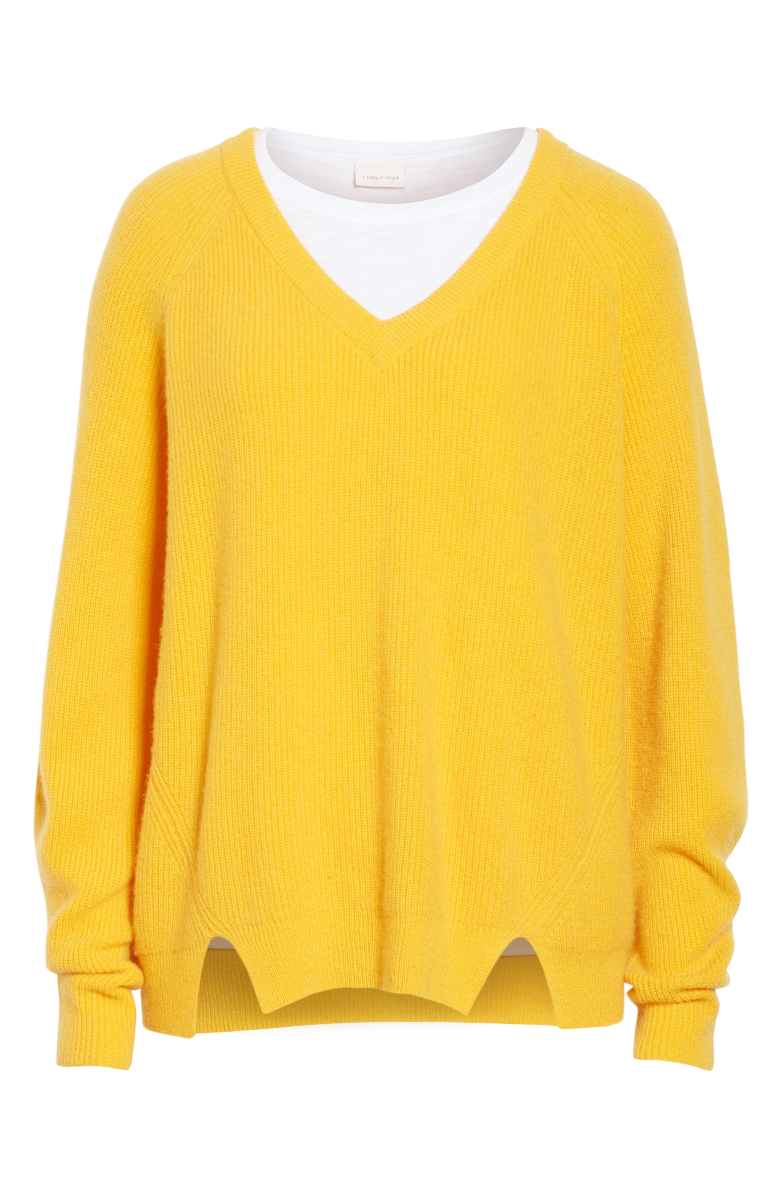 Neely Cashmere Sweater,                             Alternate thumbnail 6, color,                             724