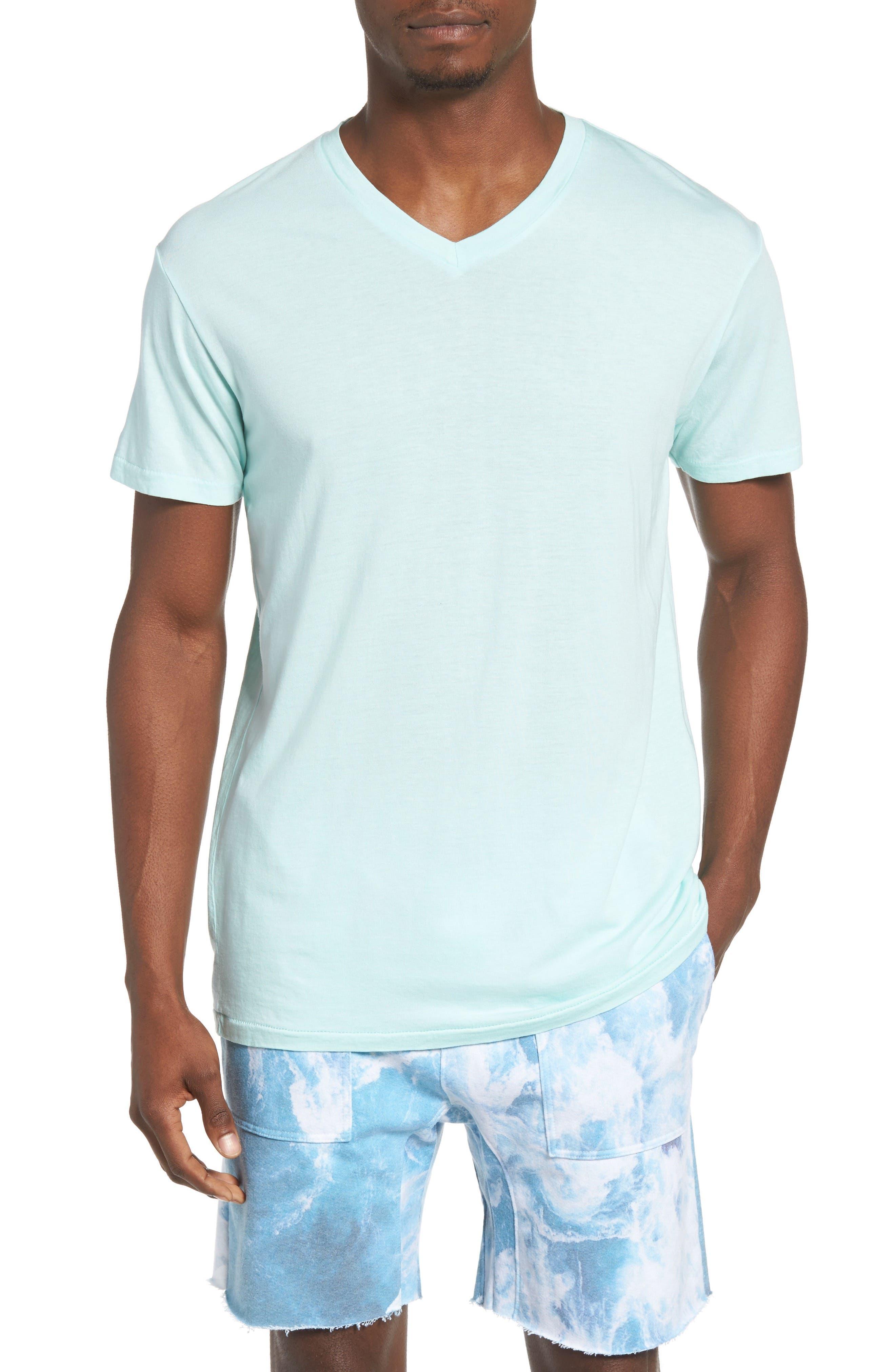 Essential V-Neck T-Shirt,                             Main thumbnail 8, color,