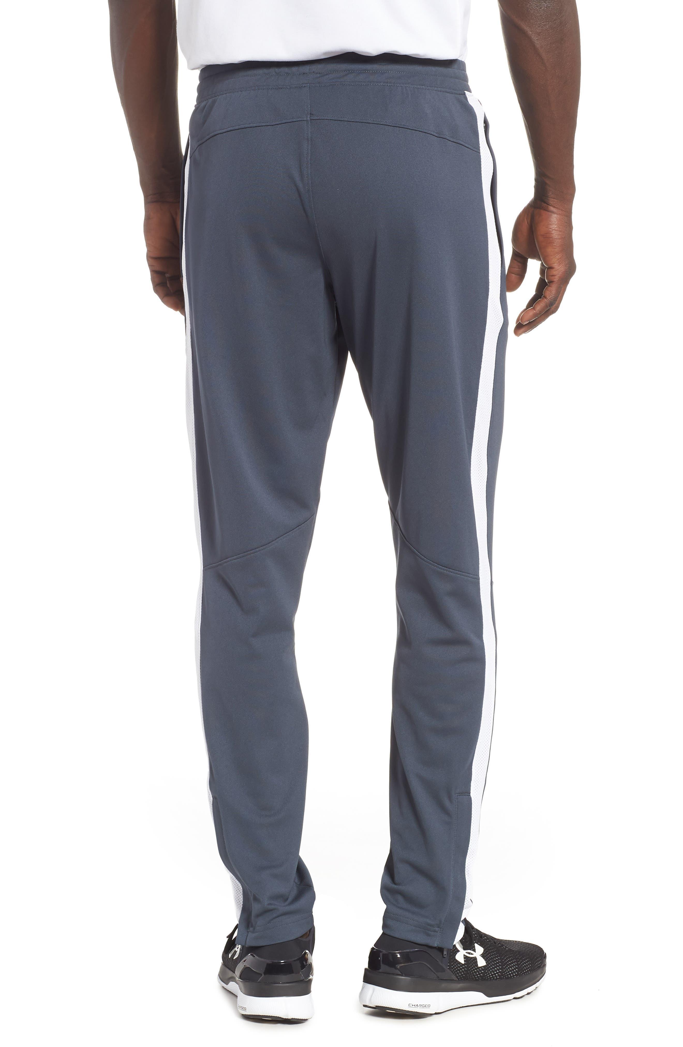 Sportstyle Slim Piqué Track Pants,                             Alternate thumbnail 2, color,                             STEALTH GRAY / / WHITE