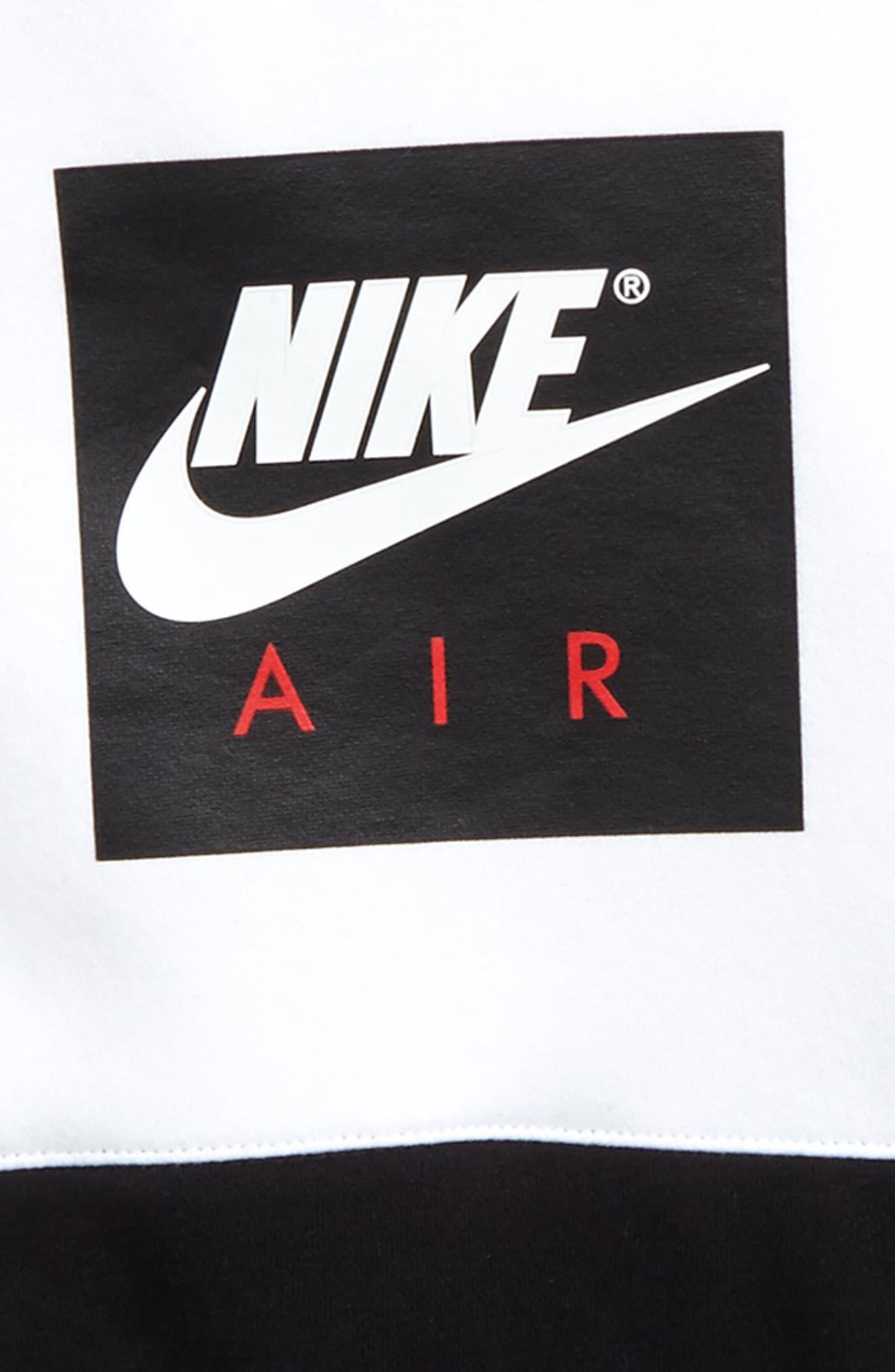 Air Screenprint Hoodie,                             Alternate thumbnail 5, color,