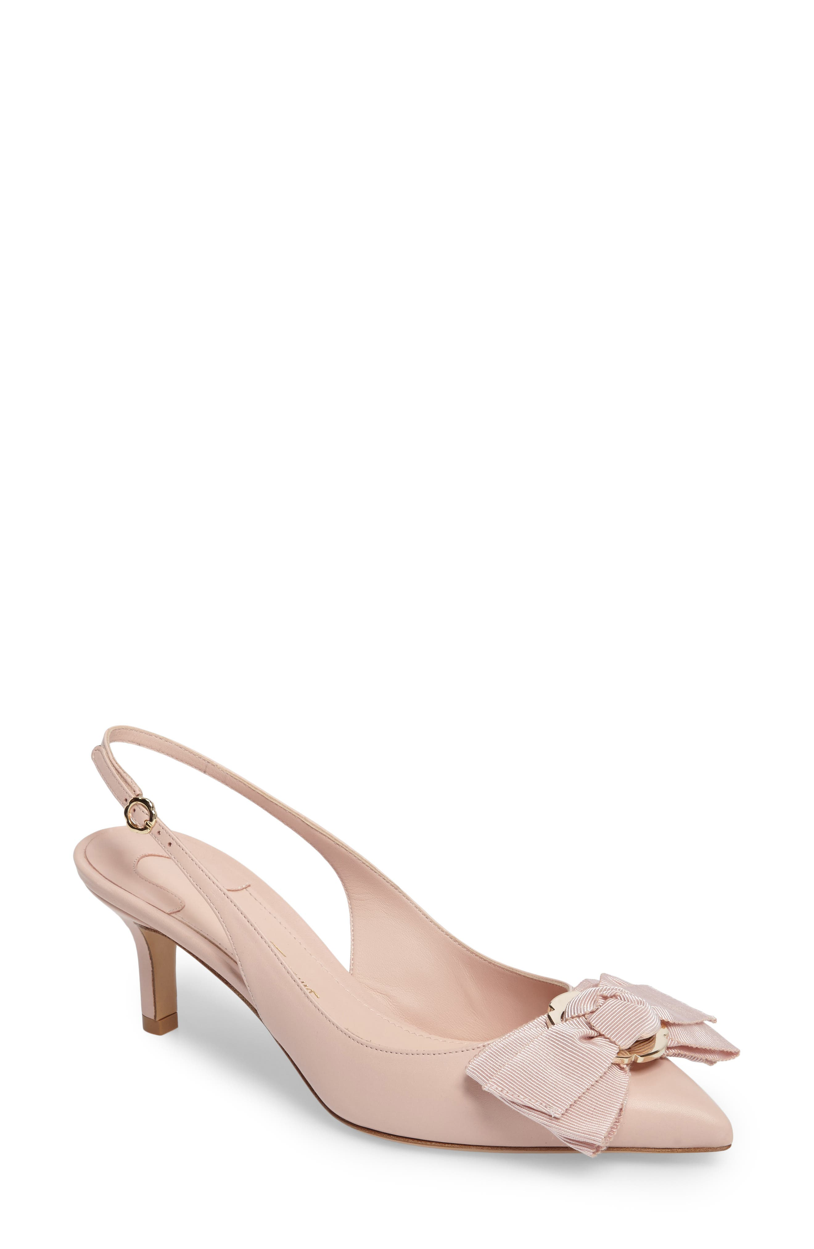 Laterina Slingback Pump,                             Main thumbnail 1, color,