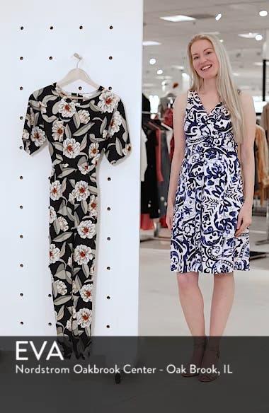 Belted Floral Jumpsuit, sales video thumbnail