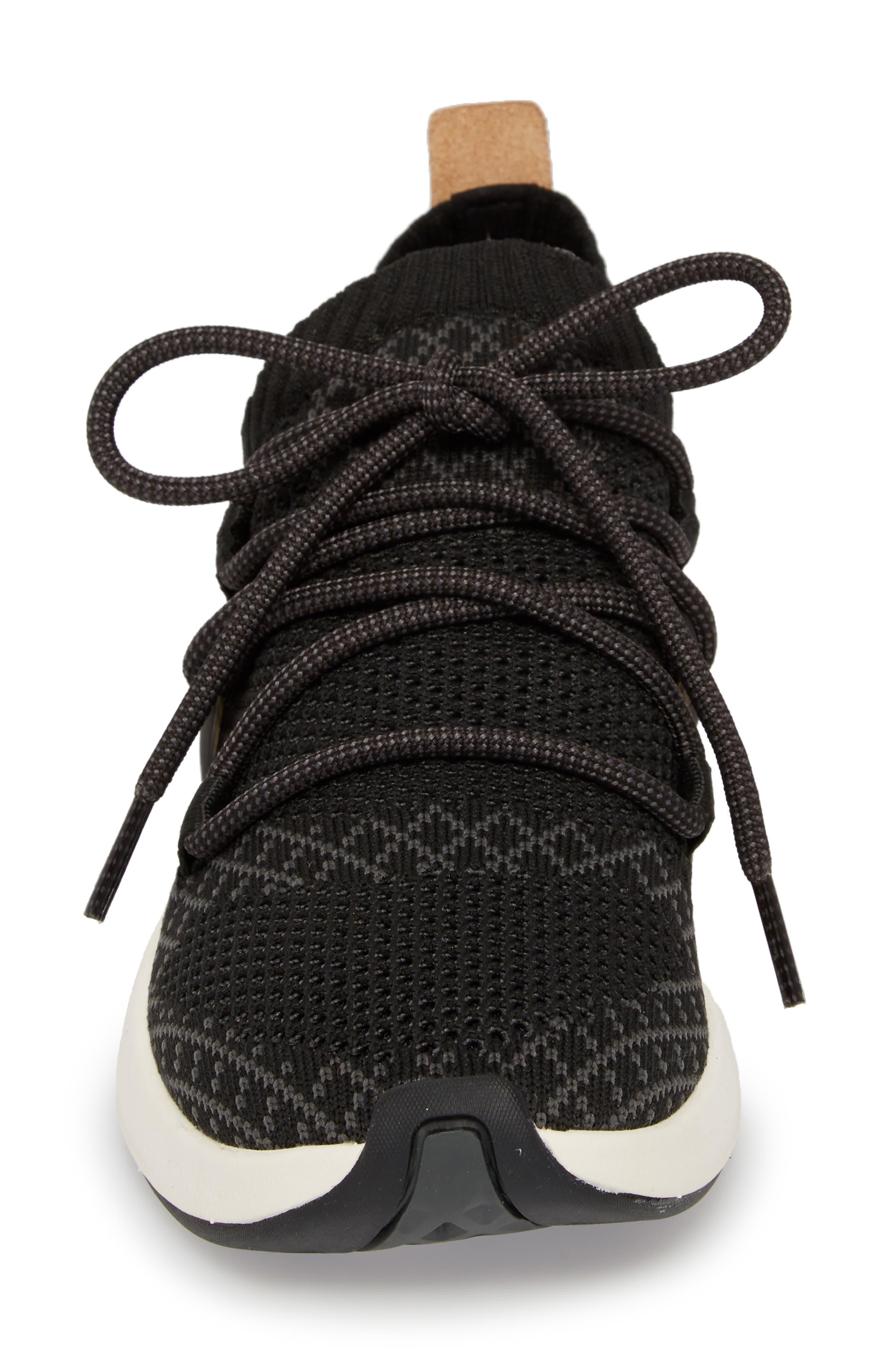 TIMBERLAND,                             FlyRoam Go Knit Sneaker,                             Alternate thumbnail 4, color,                             001