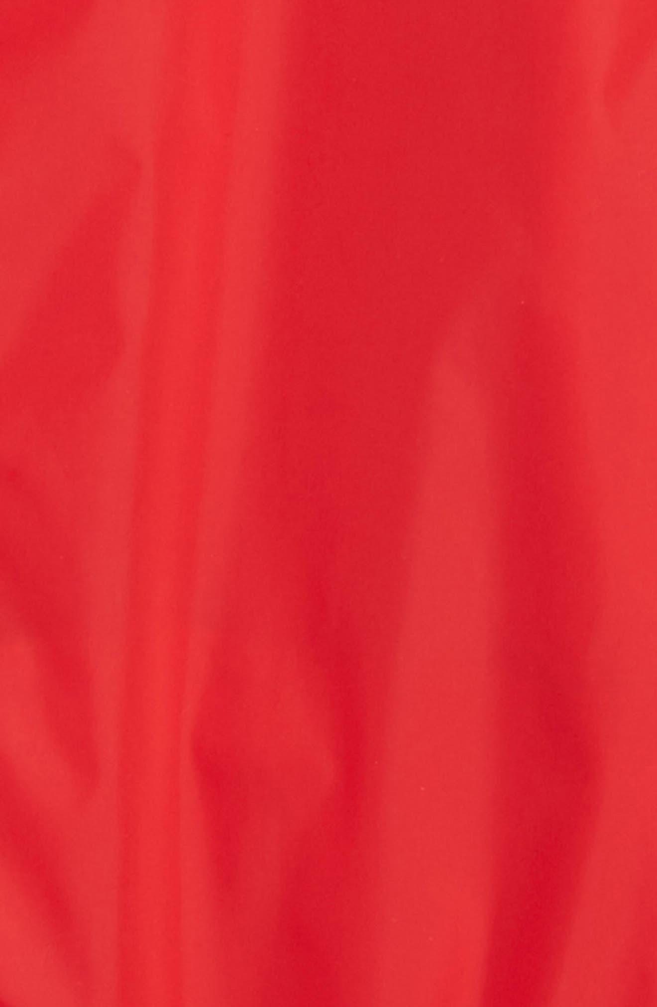 Erina Water Resistant Hooded Windbreaker,                             Alternate thumbnail 2, color,                             RED
