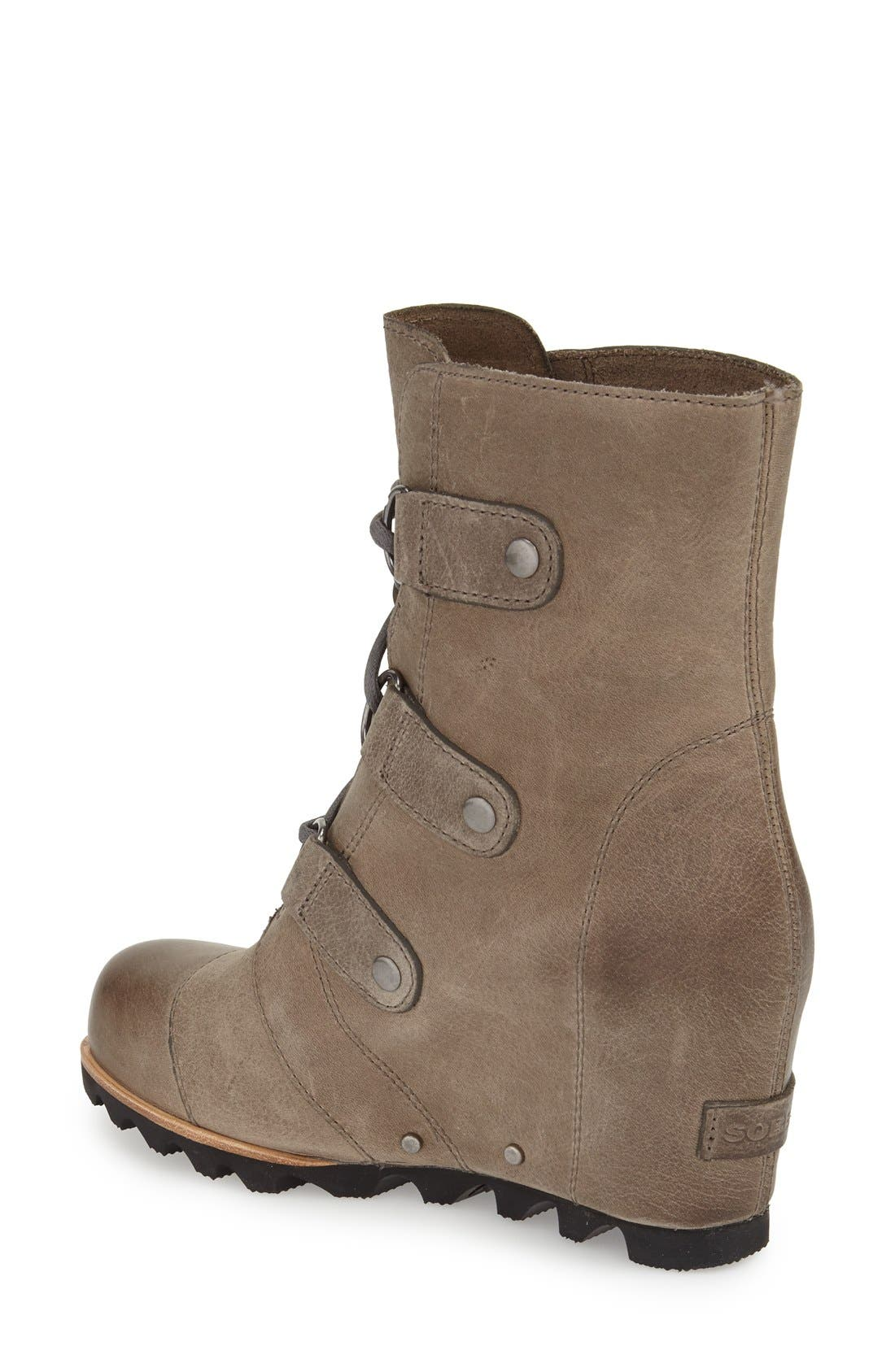 'Joan of Arctic' Waterproof Wedge Boot,                             Alternate thumbnail 14, color,