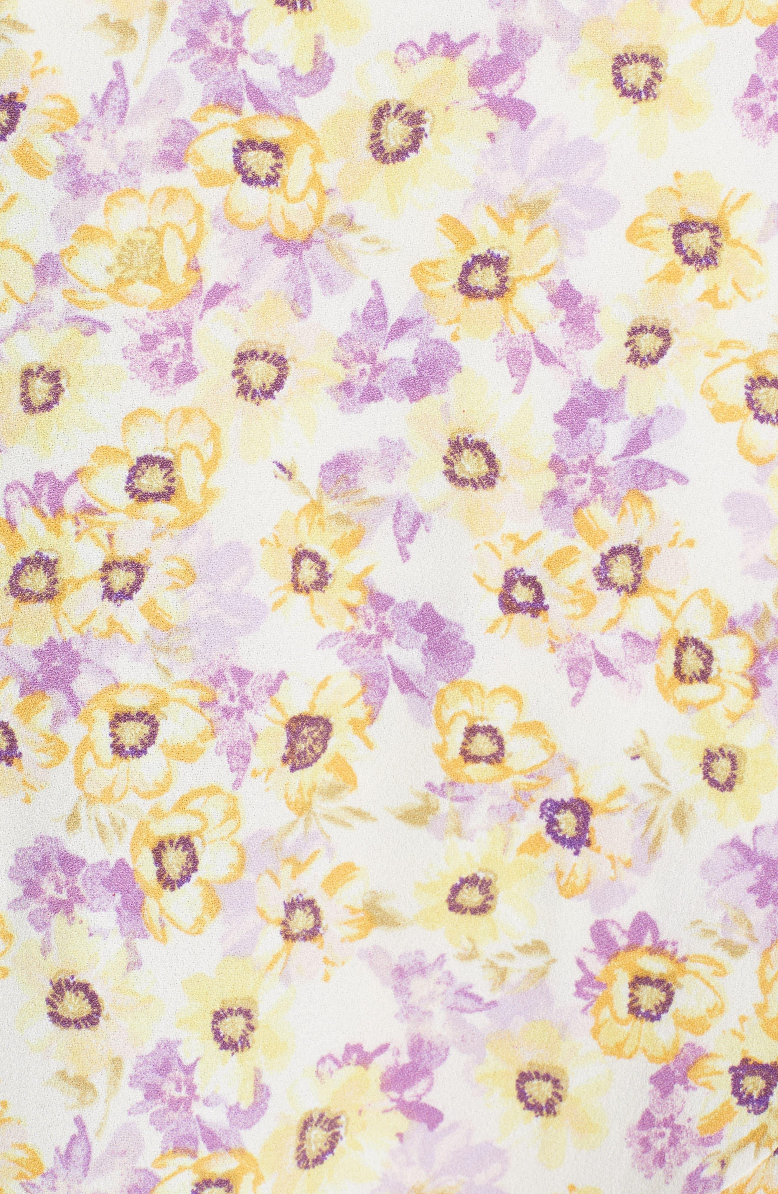 Andrea Ruffle Wrap Dress,                             Alternate thumbnail 15, color,