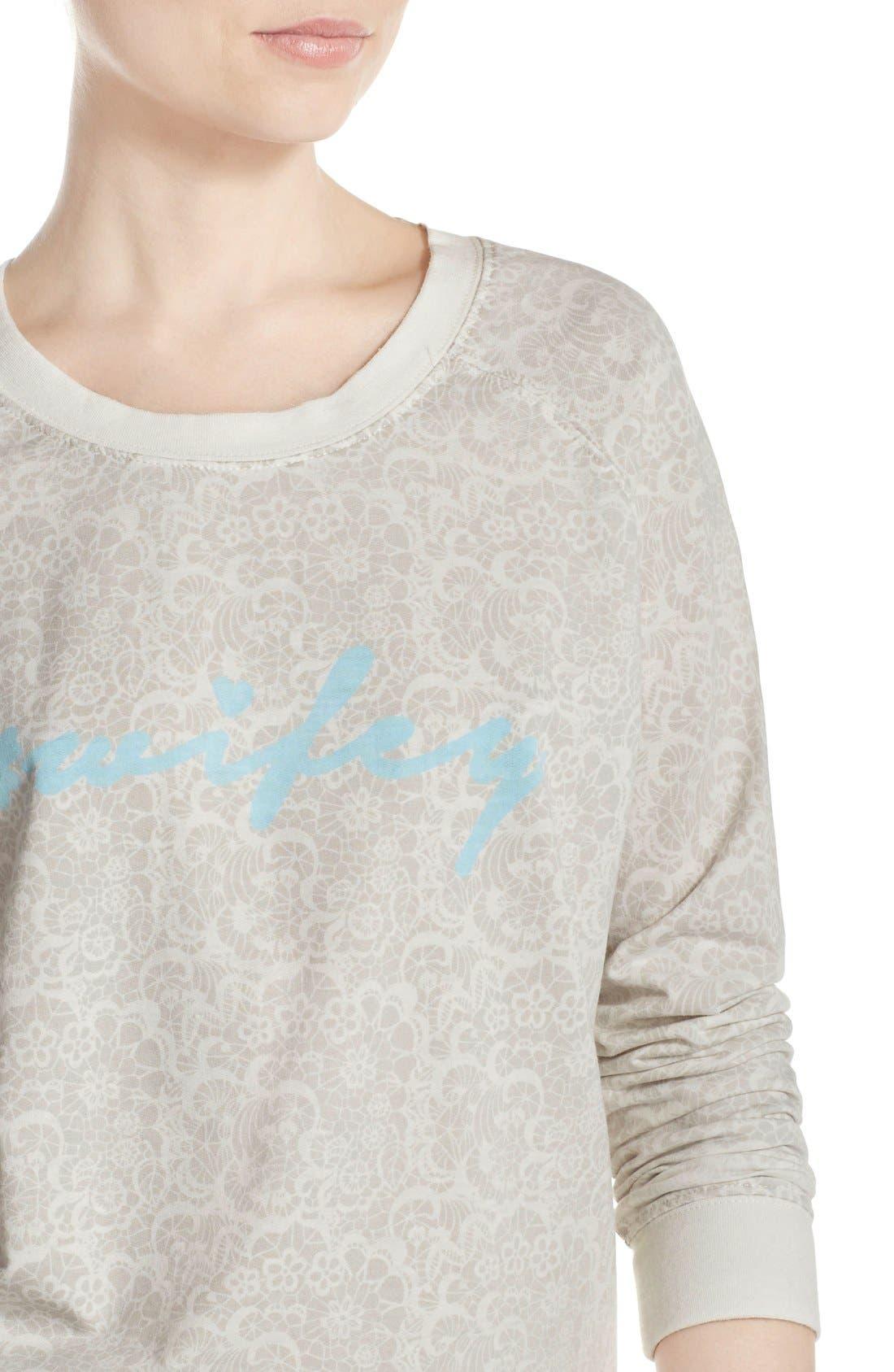 Burnout Lounge Sweatshirt,                             Alternate thumbnail 214, color,