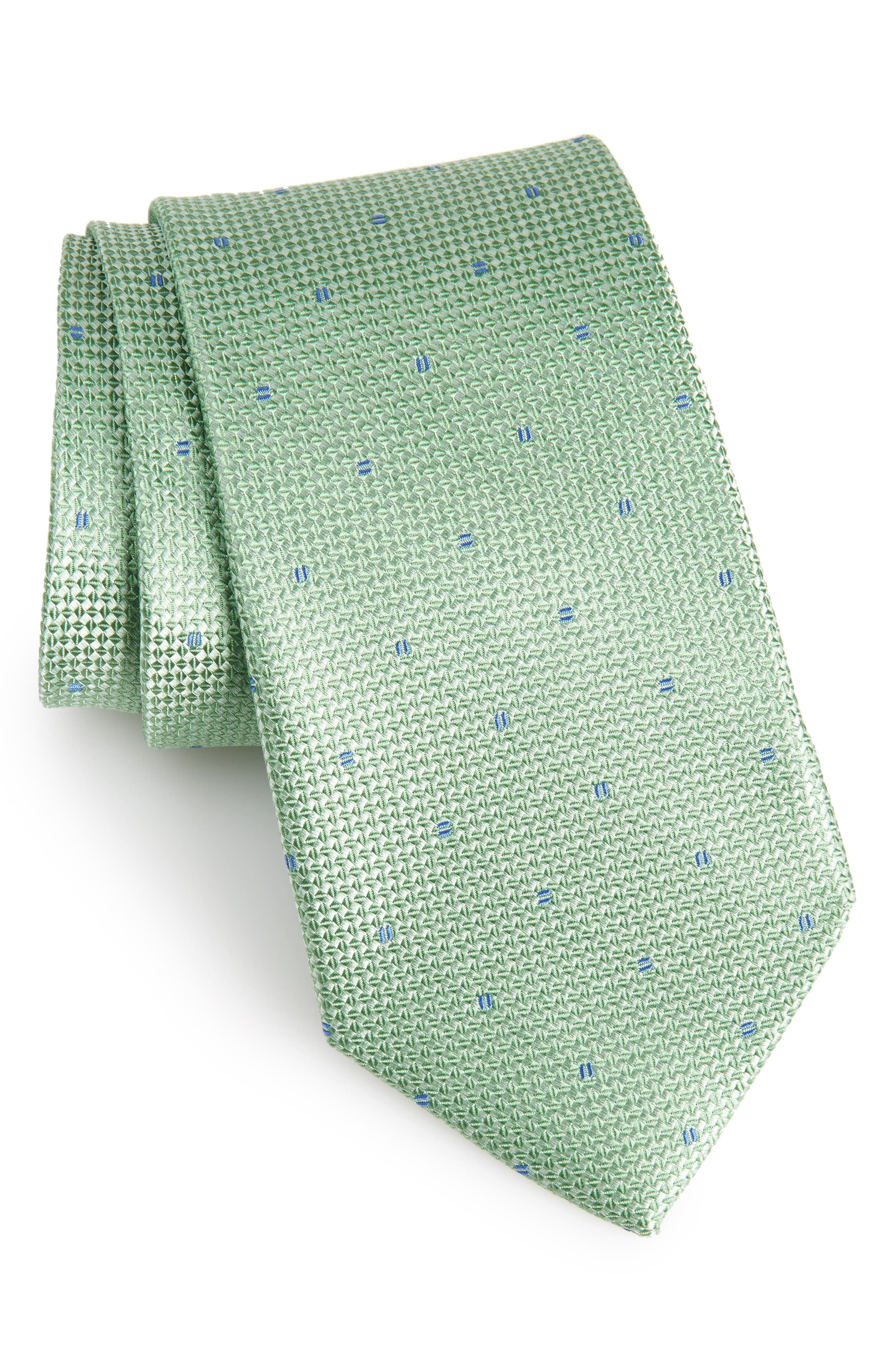 Mulroy Neat Silk Tie,                             Main thumbnail 2, color,