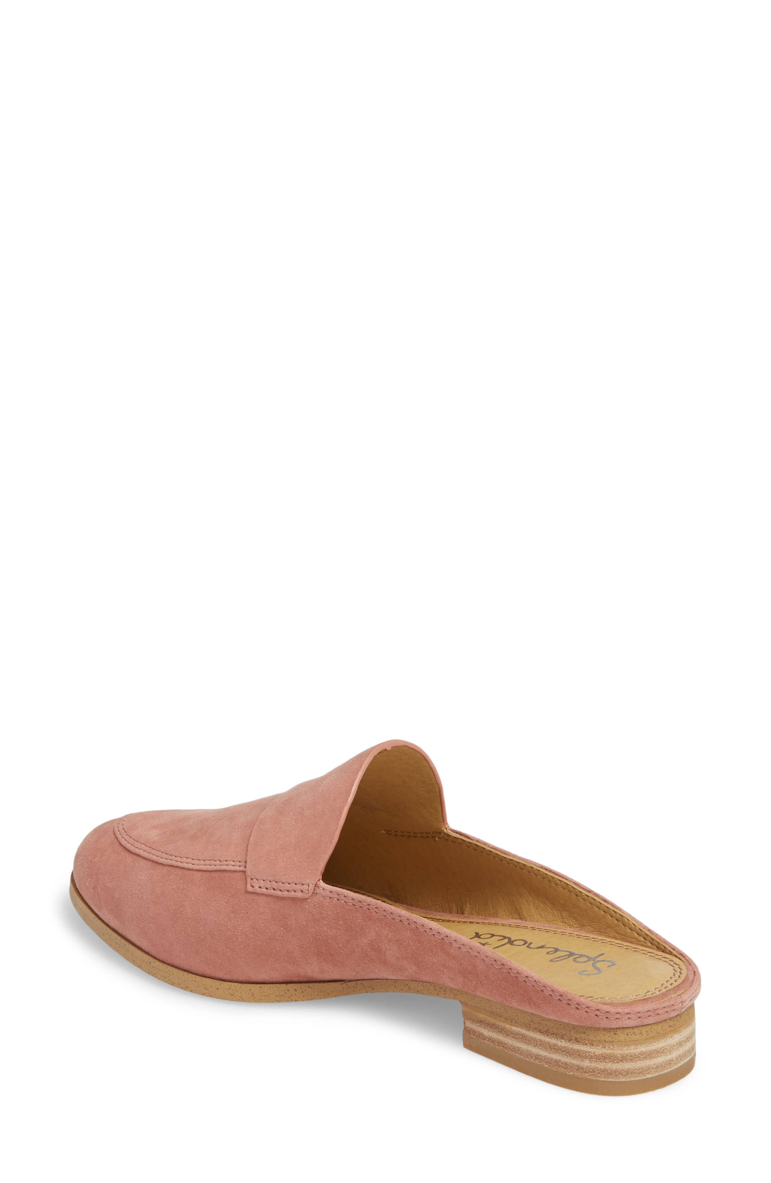 Nima Loafer Mule,                             Alternate thumbnail 2, color,                             ROSE TAUPE SUEDE