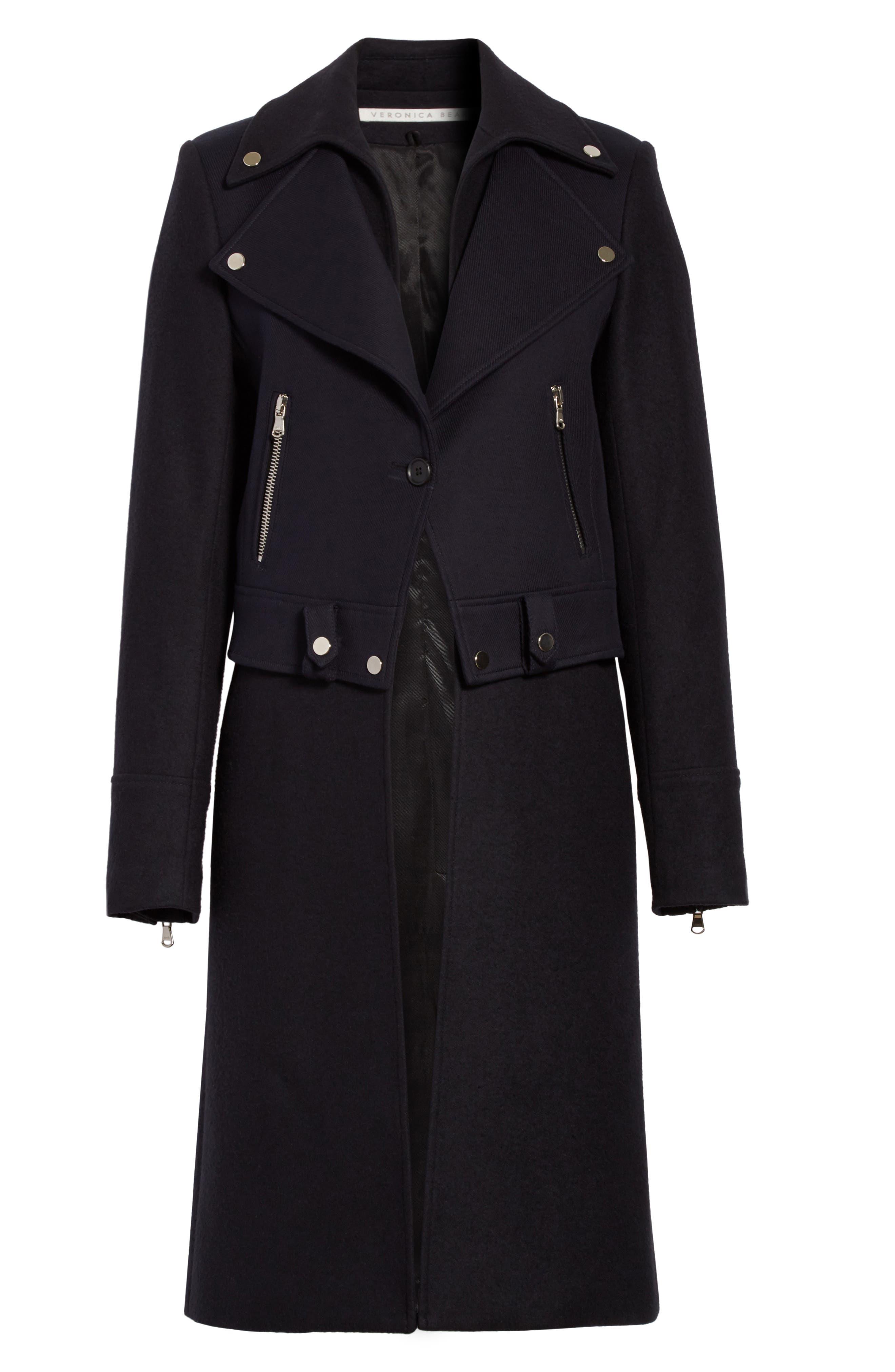 Alcott Wool & Cashmere Blend Vest Coat,                             Alternate thumbnail 5, color,                             414