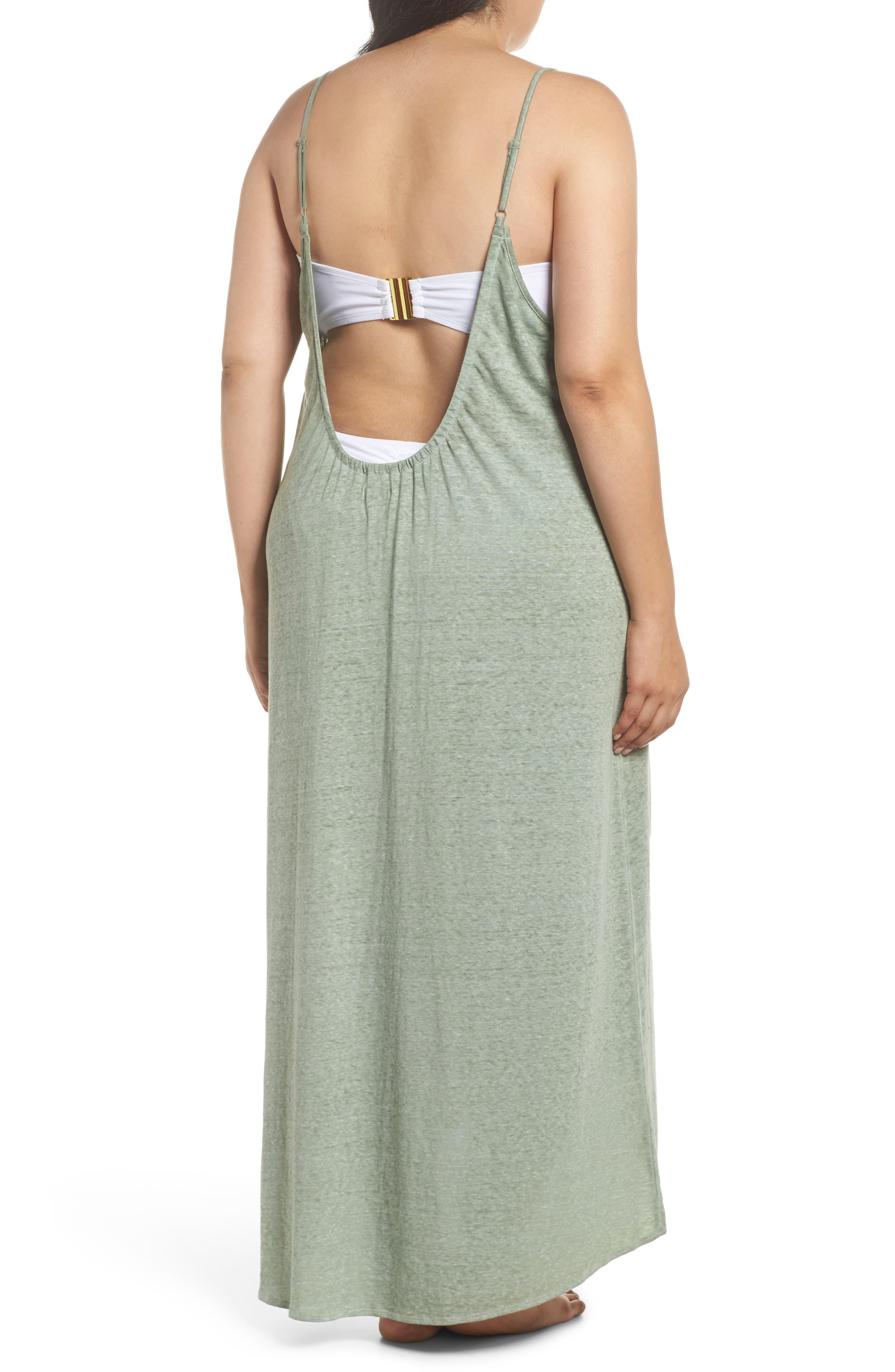 Maxi Cover-Up Dress,                             Alternate thumbnail 8, color,
