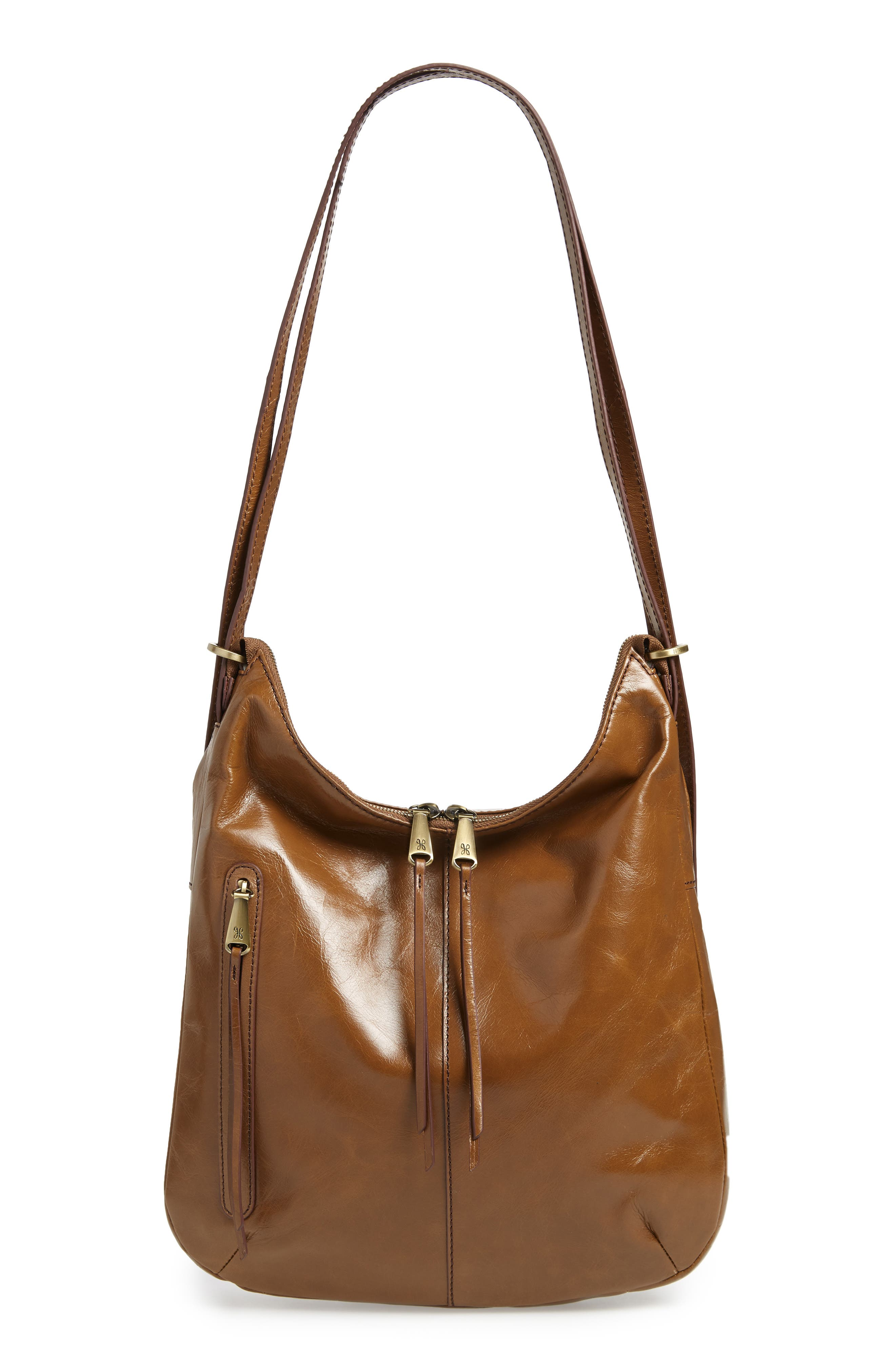 Merrin Leather Backpack,                         Main,                         color, MINK