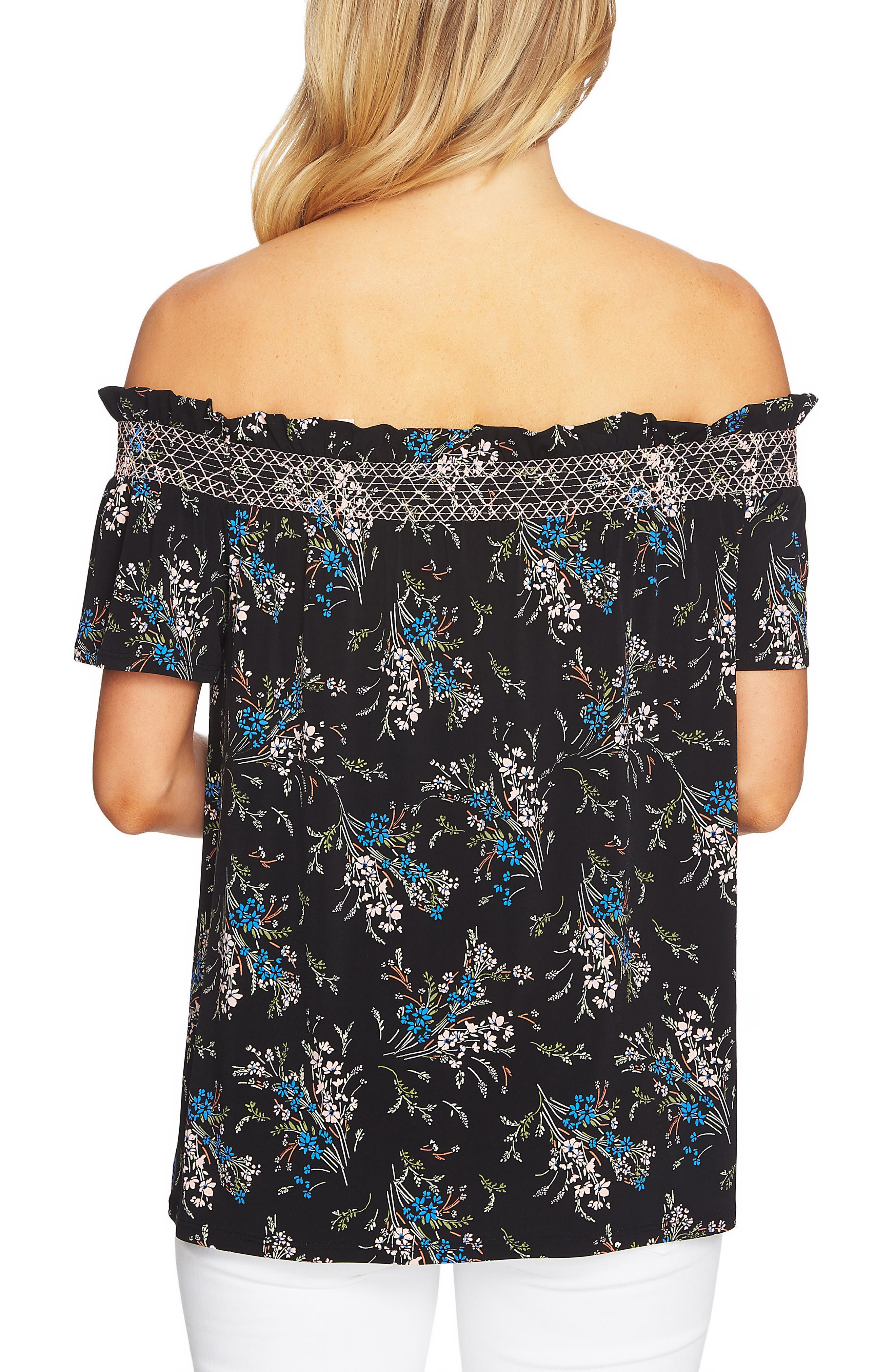 Off the Shoulder Dancing Top,                             Alternate thumbnail 2, color,                             006