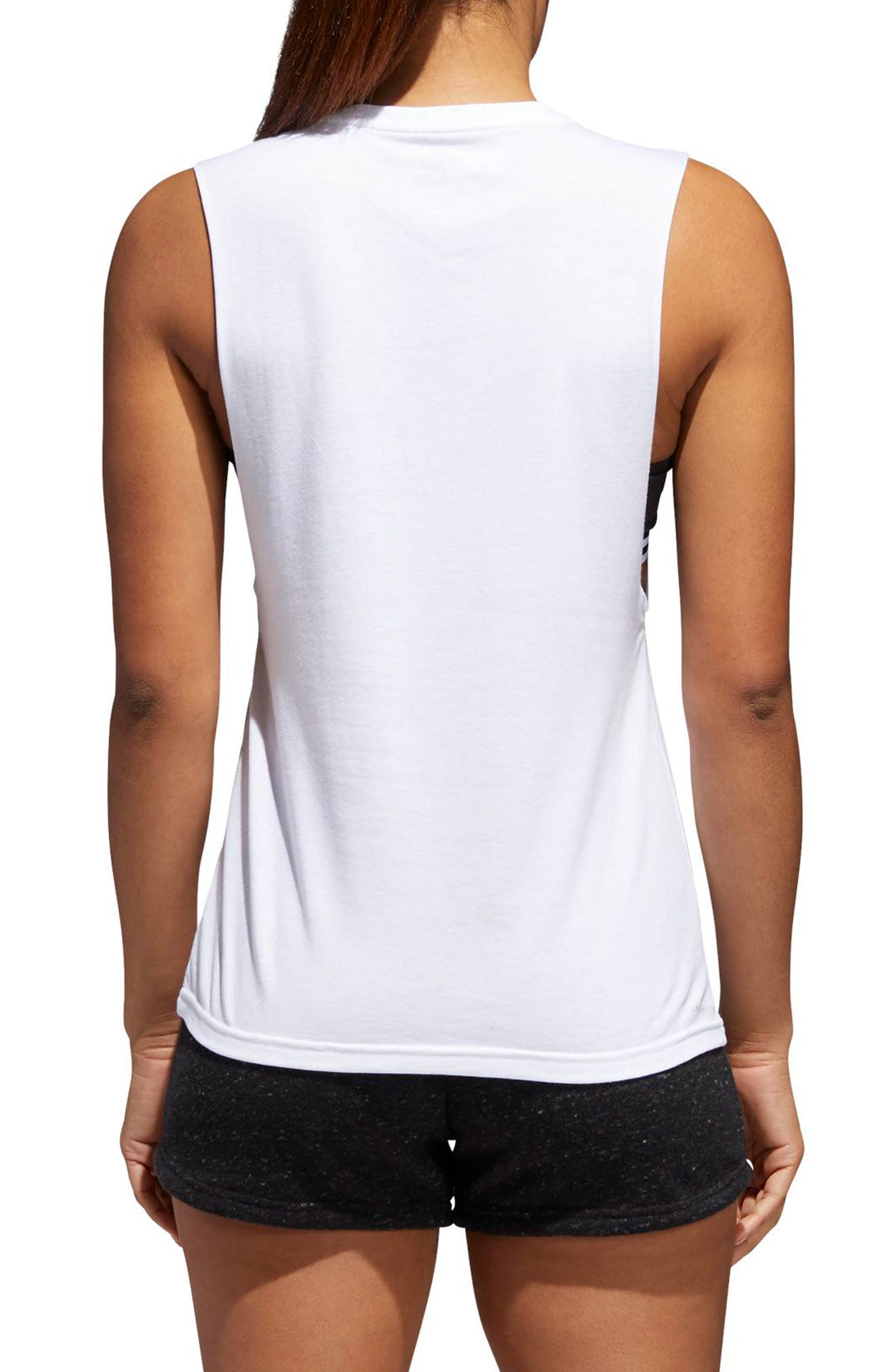 Muscle Logo Tank,                             Alternate thumbnail 4, color,