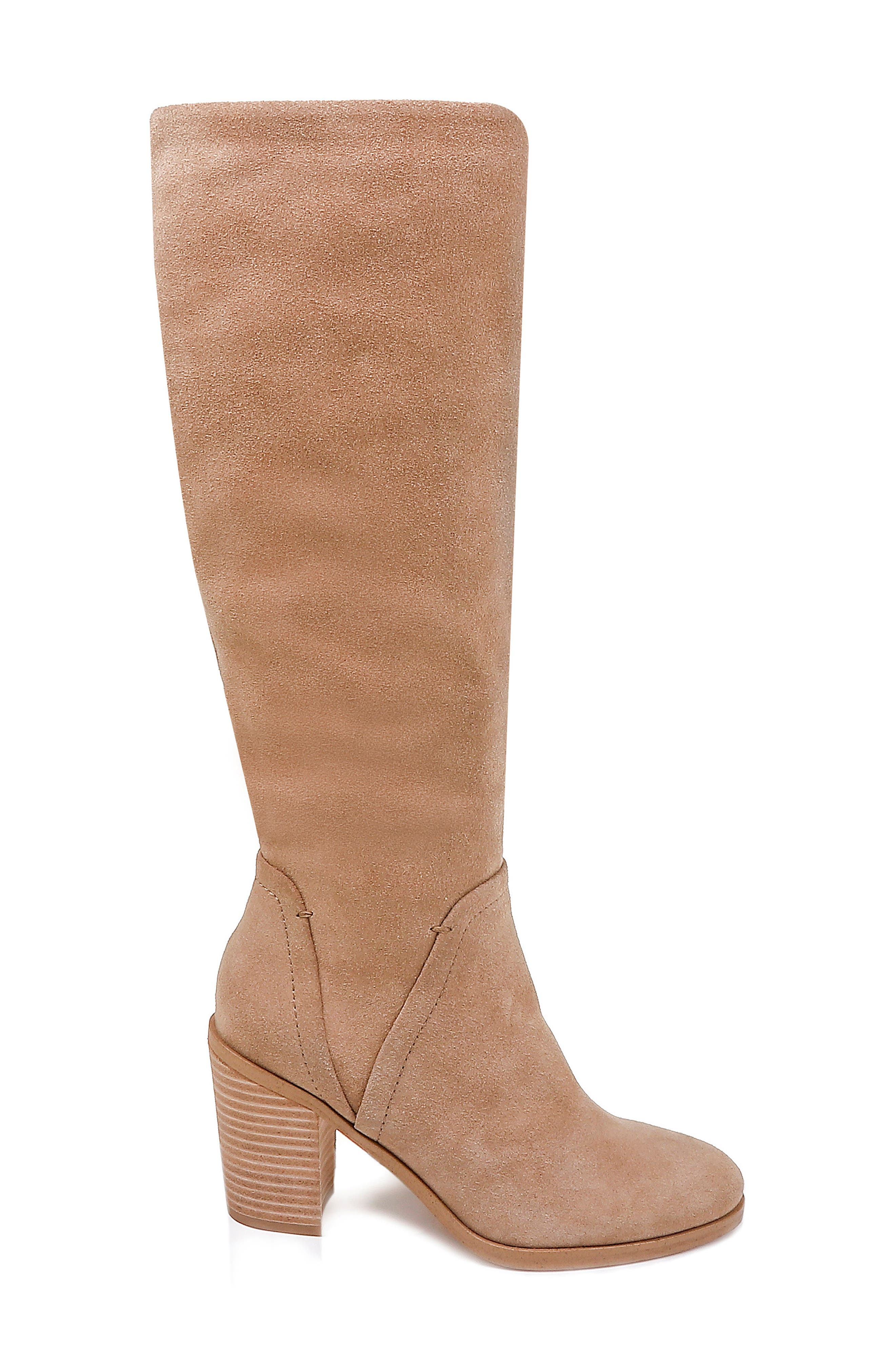Chester Boot,                             Alternate thumbnail 3, color,                             OAT SUEDE