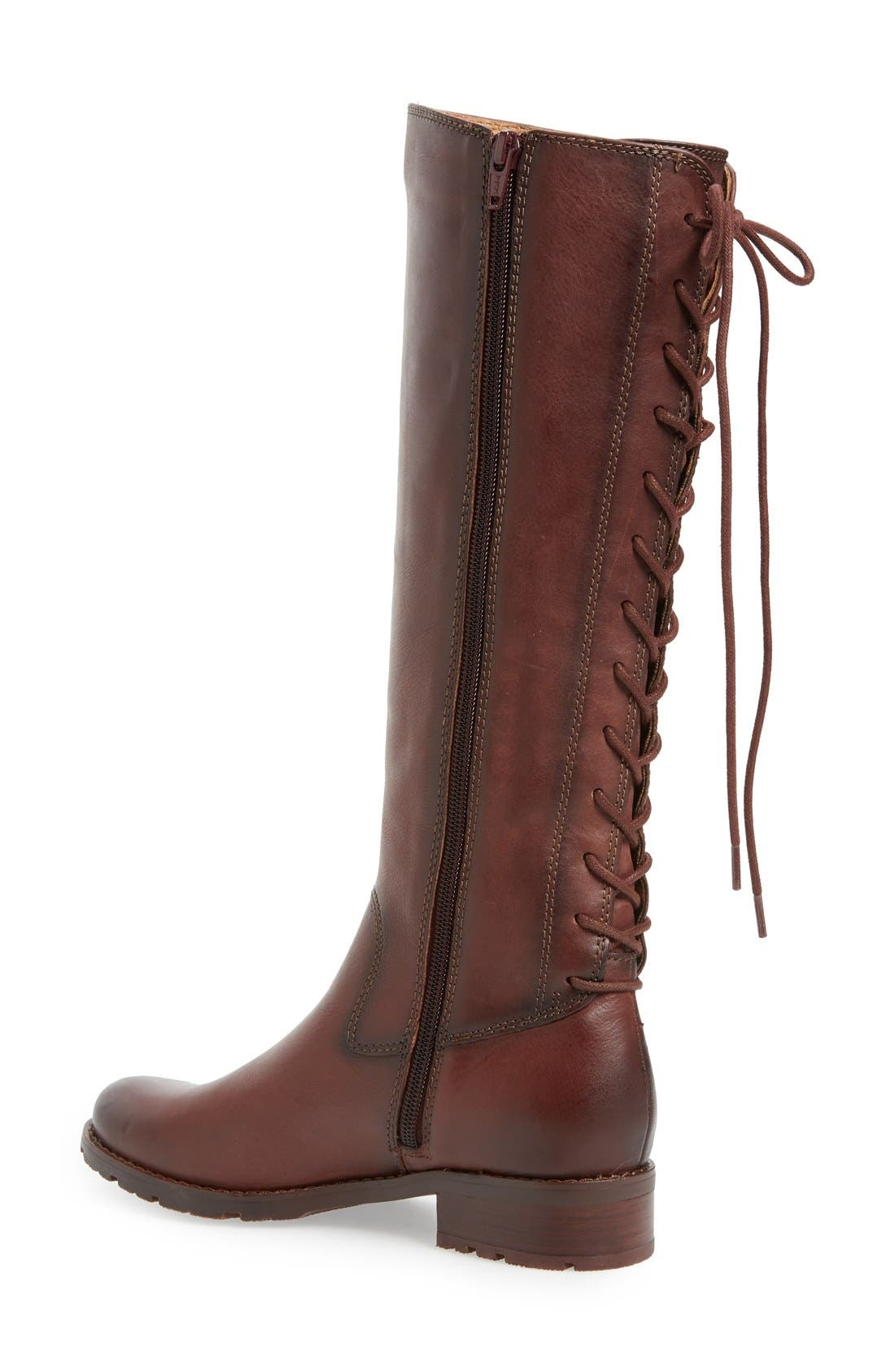 'Sharnell' Riding Boot,                             Alternate thumbnail 18, color,