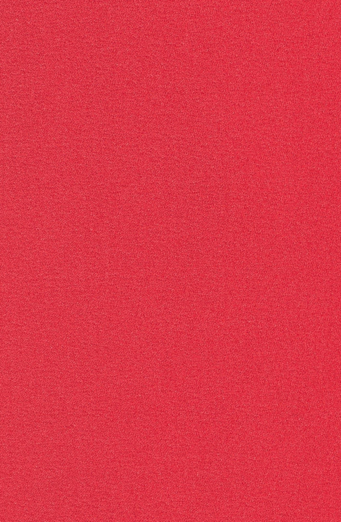 Bloused Sleeve Shift Dress,                             Alternate thumbnail 5, color,