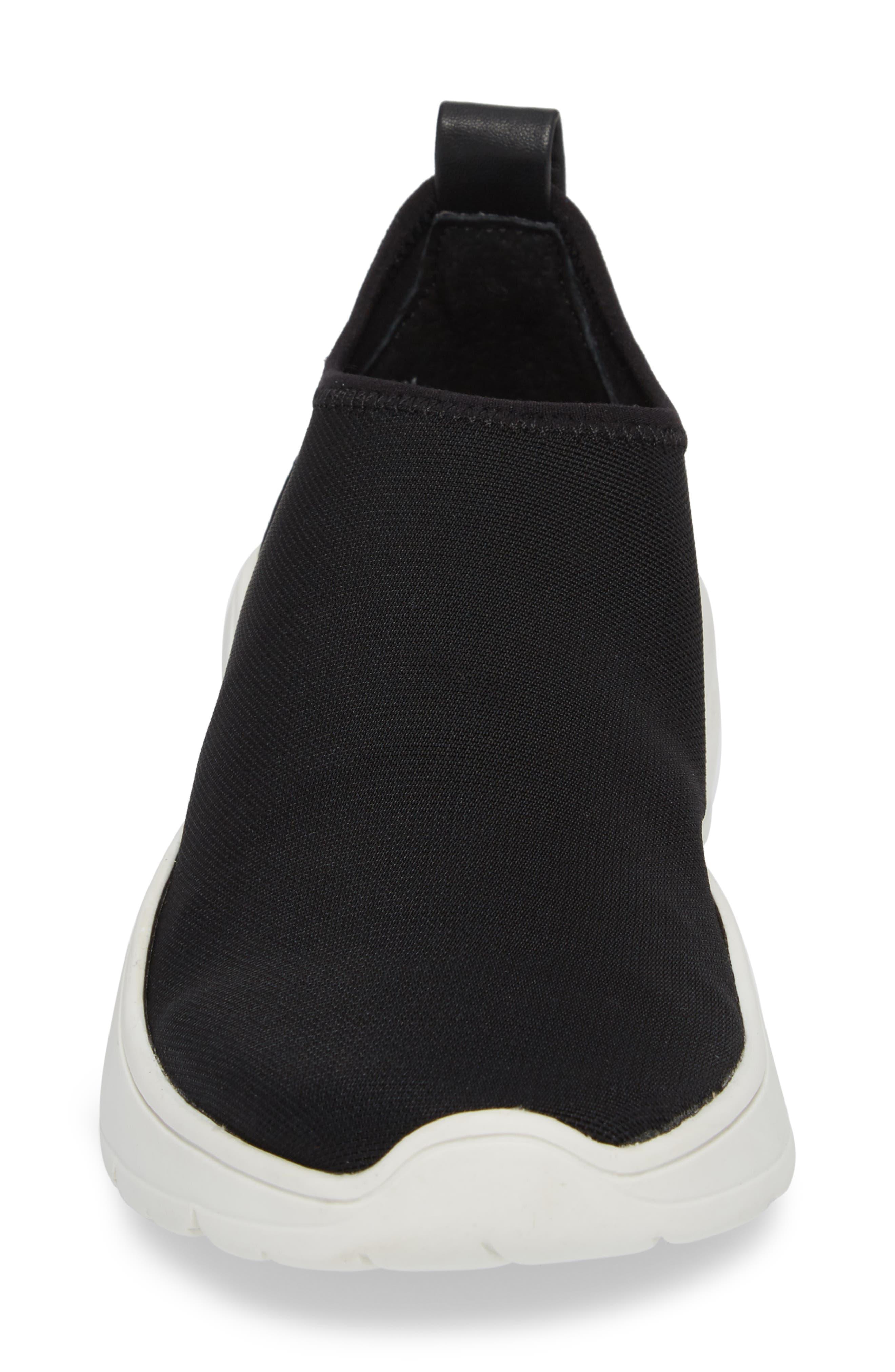 Floren Slip-On Sneaker,                             Alternate thumbnail 4, color,                             001