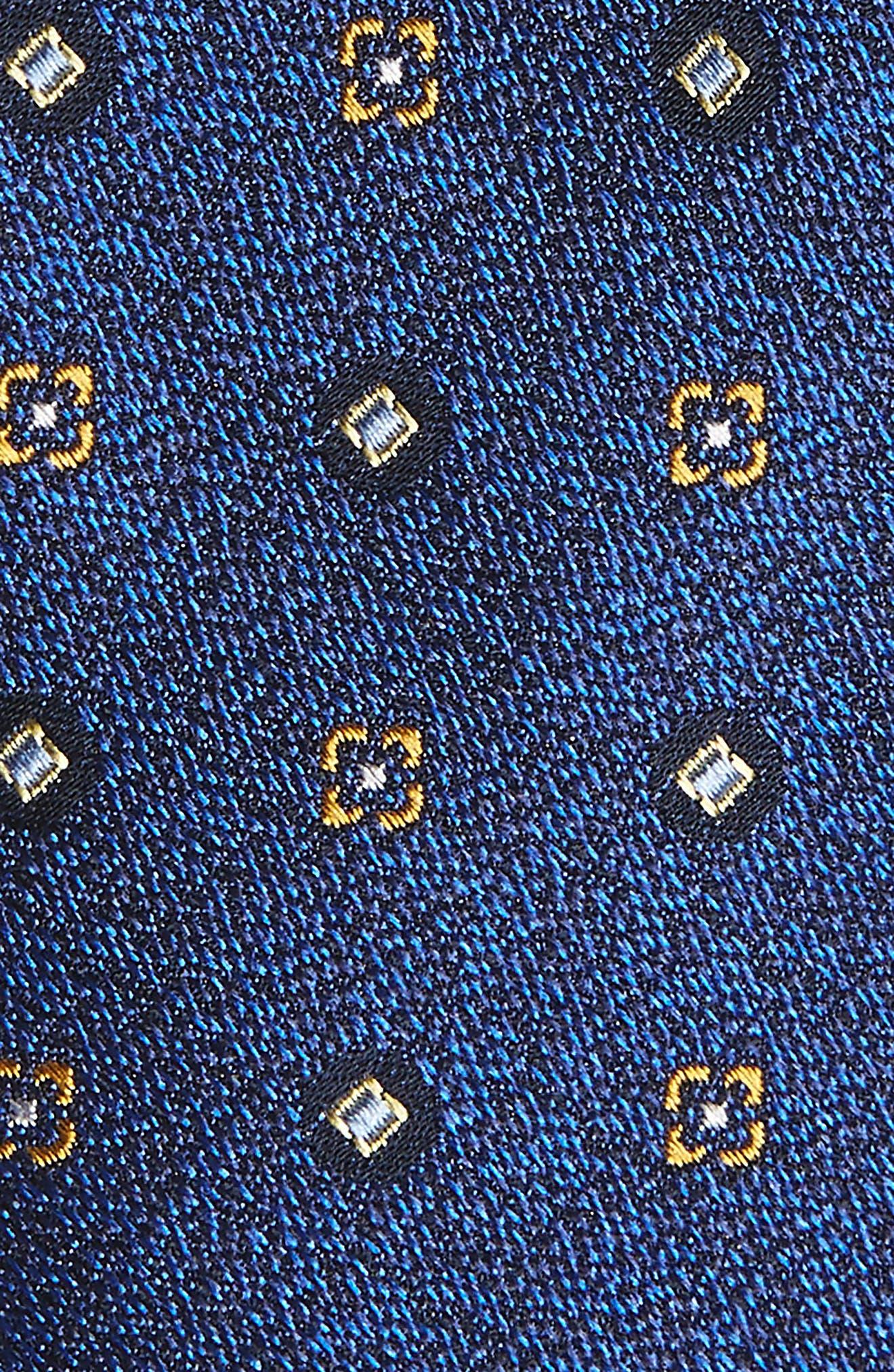 Neat Medallion Silk Tie,                             Alternate thumbnail 2, color,                             467