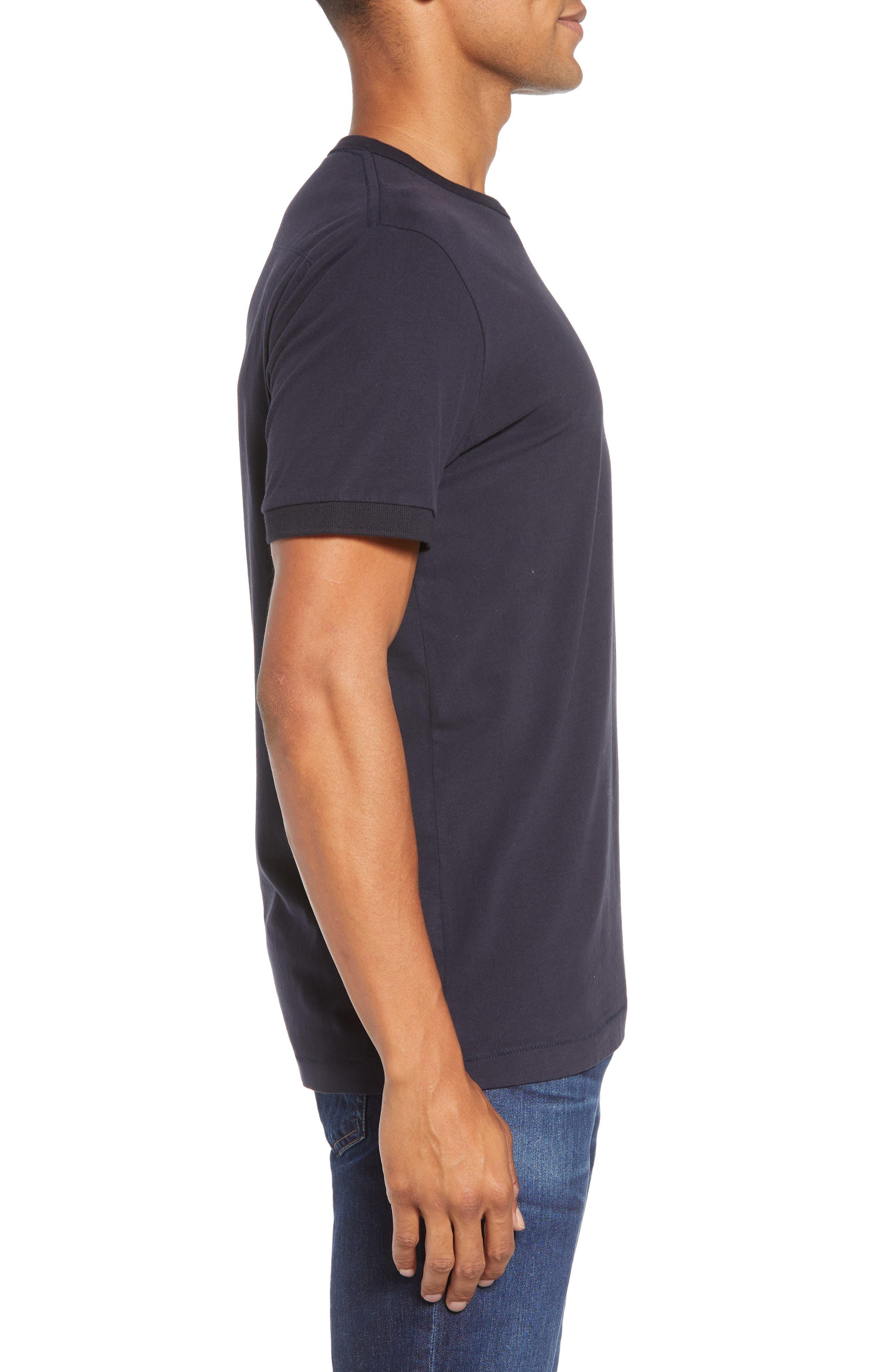 Finish T-Shirt,                             Alternate thumbnail 3, color,                             UTILITY BLUE